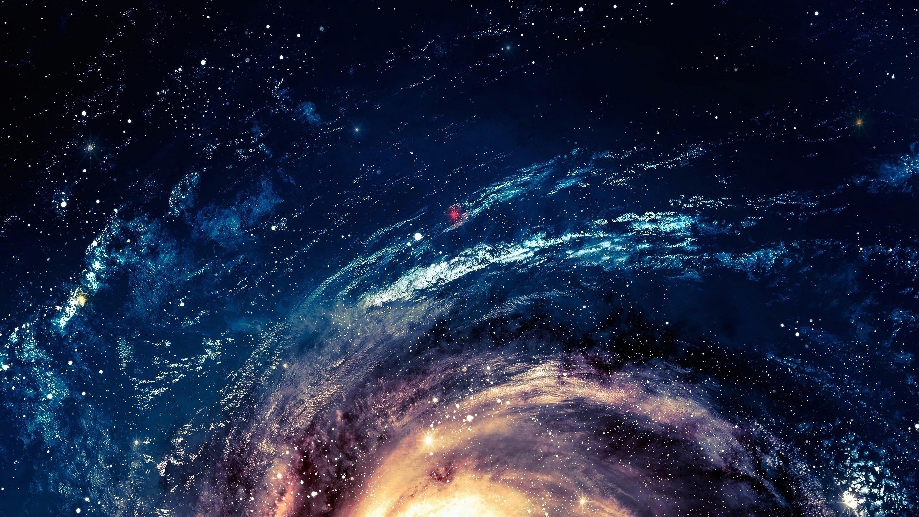 Fondos de pantalla Diseño de galaxia abstracta