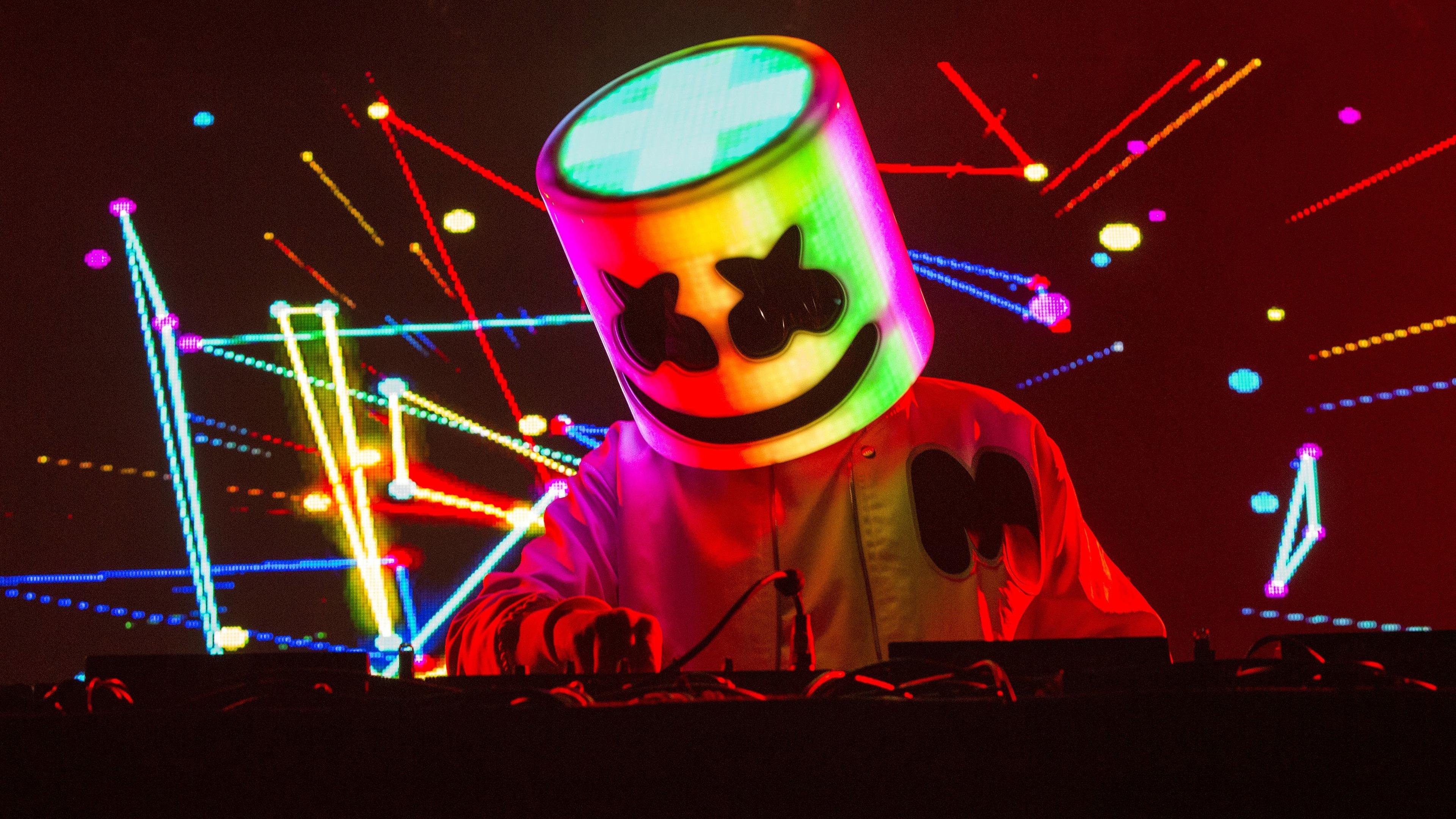 Fondos de pantalla DJ marshmello en concierto
