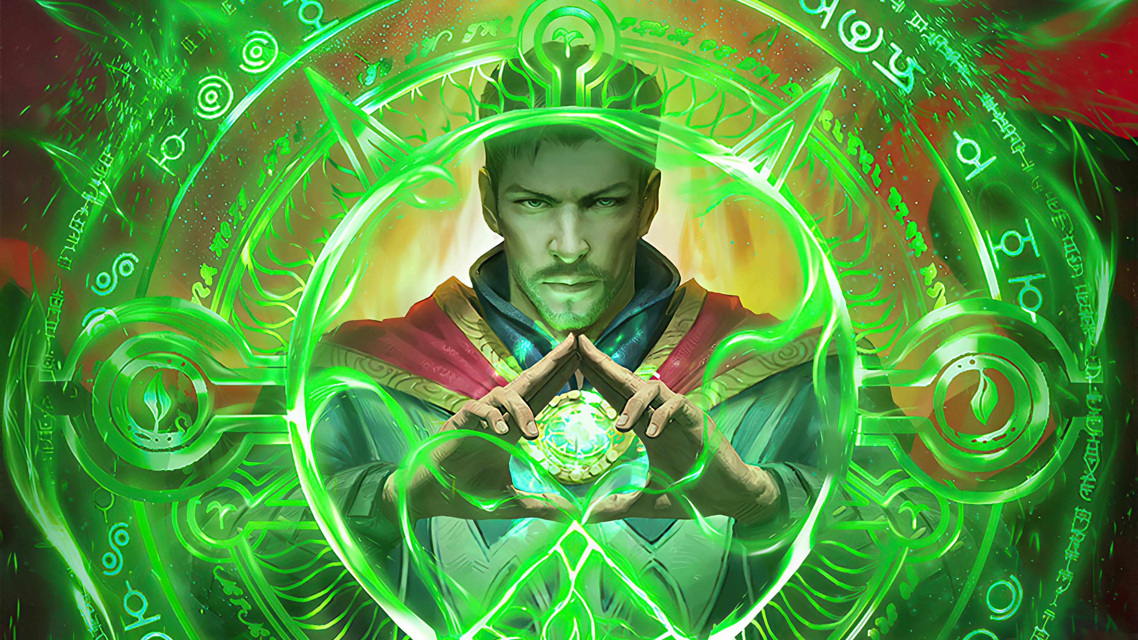 Wallpaper Doctor Strange Fanart 2020