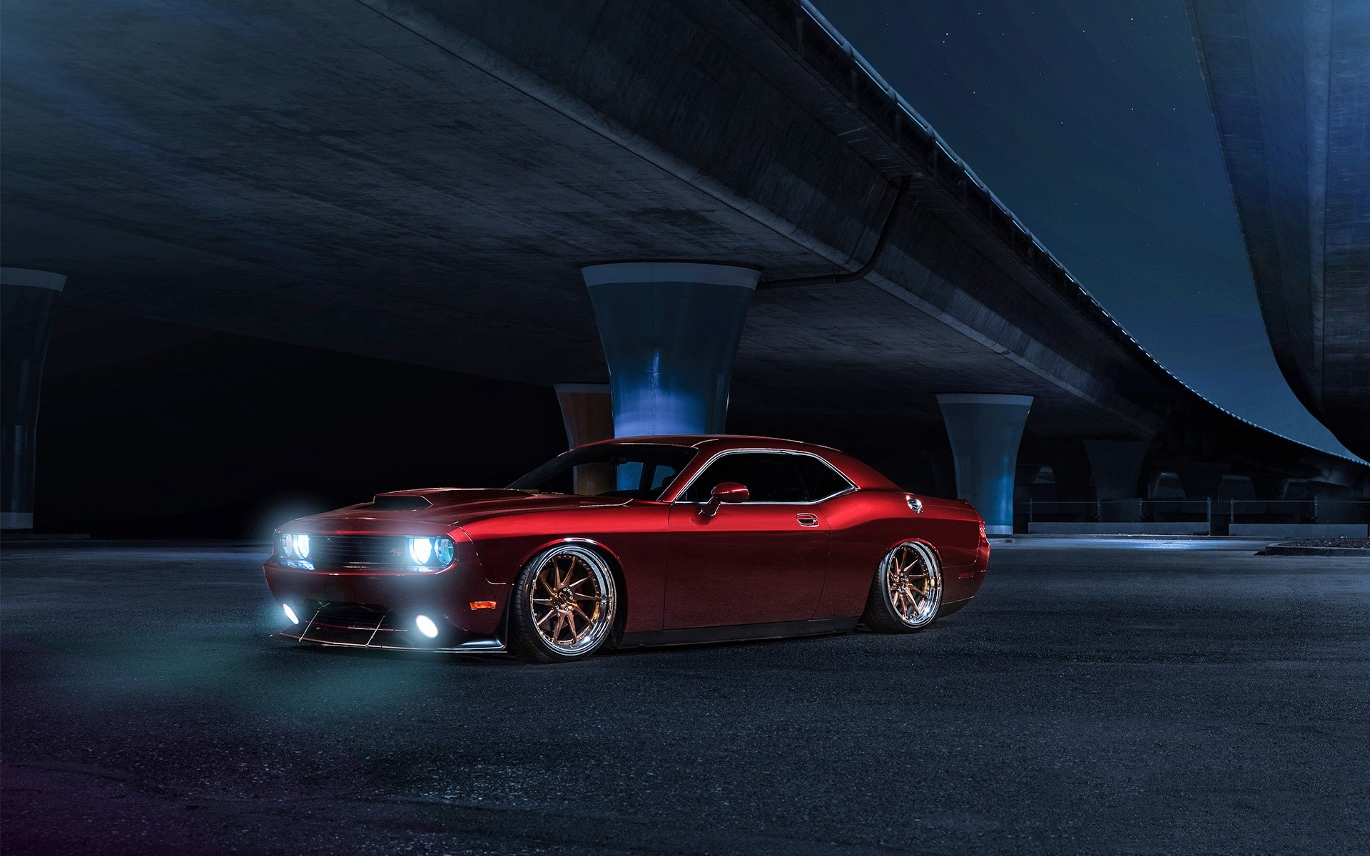 Fondos de pantalla Dodge Challenger Avant Garde Wheels