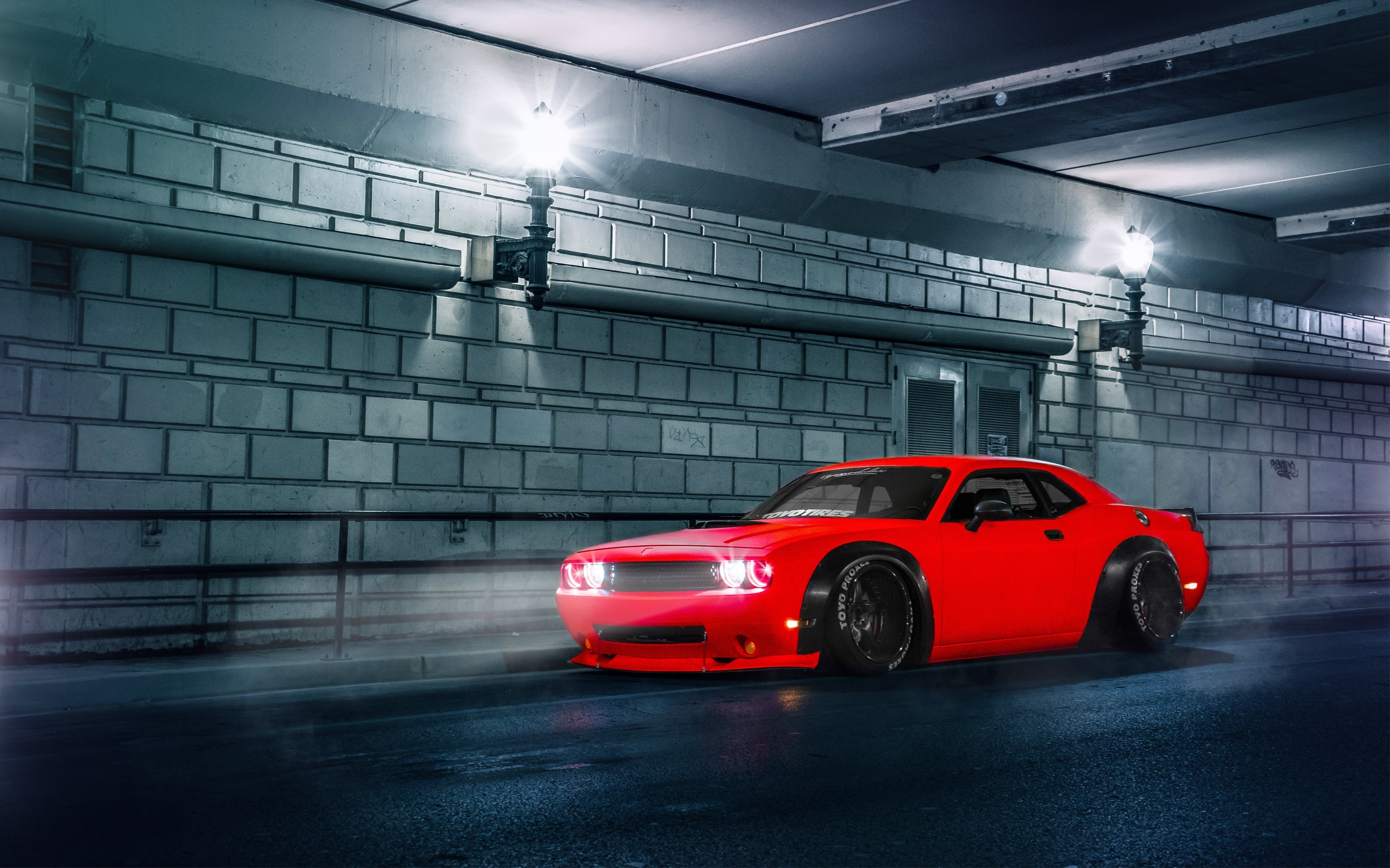 Wallpaper Dodge Challenger SRT