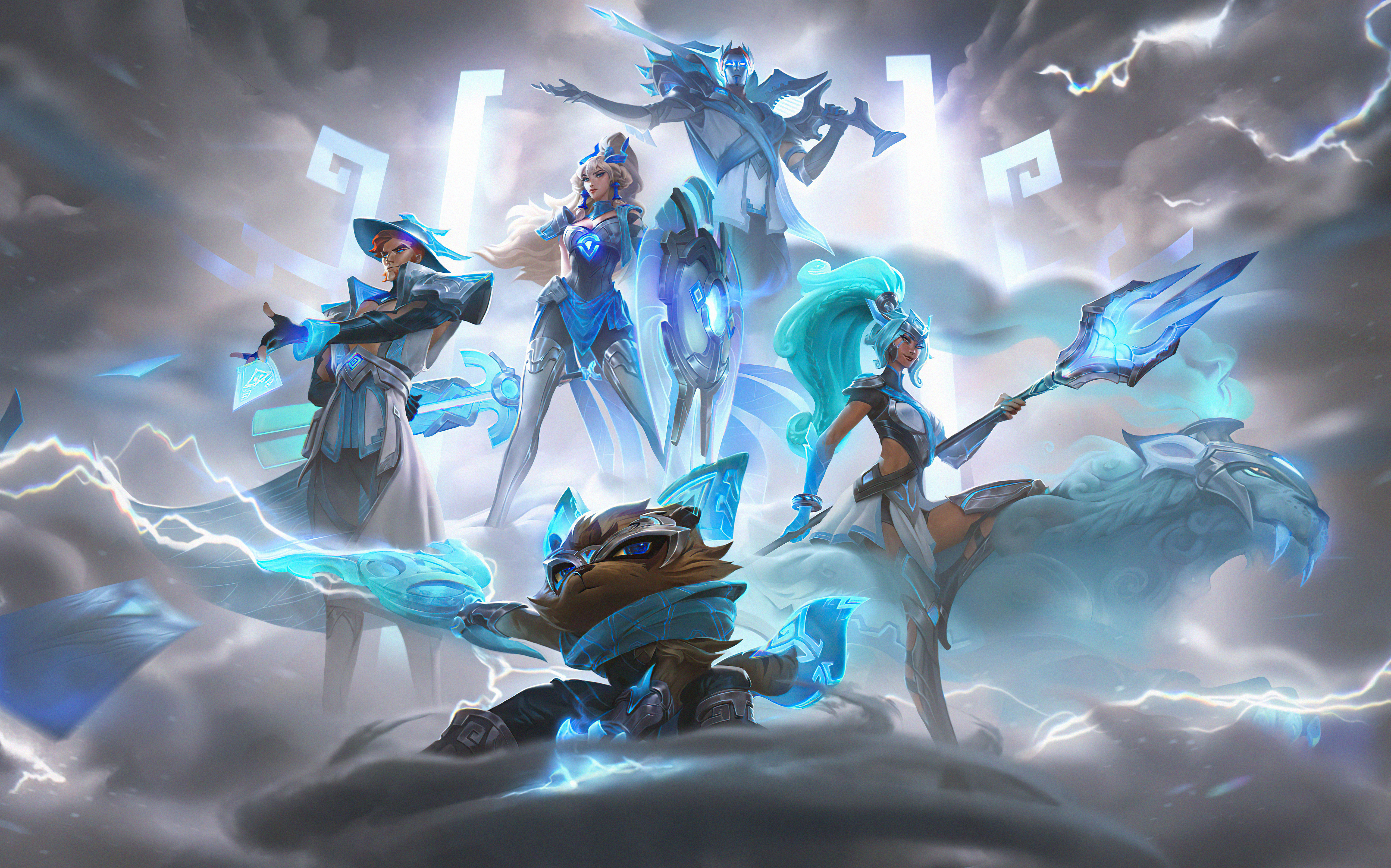 Wallpaper Domwon Gaming League of Legends