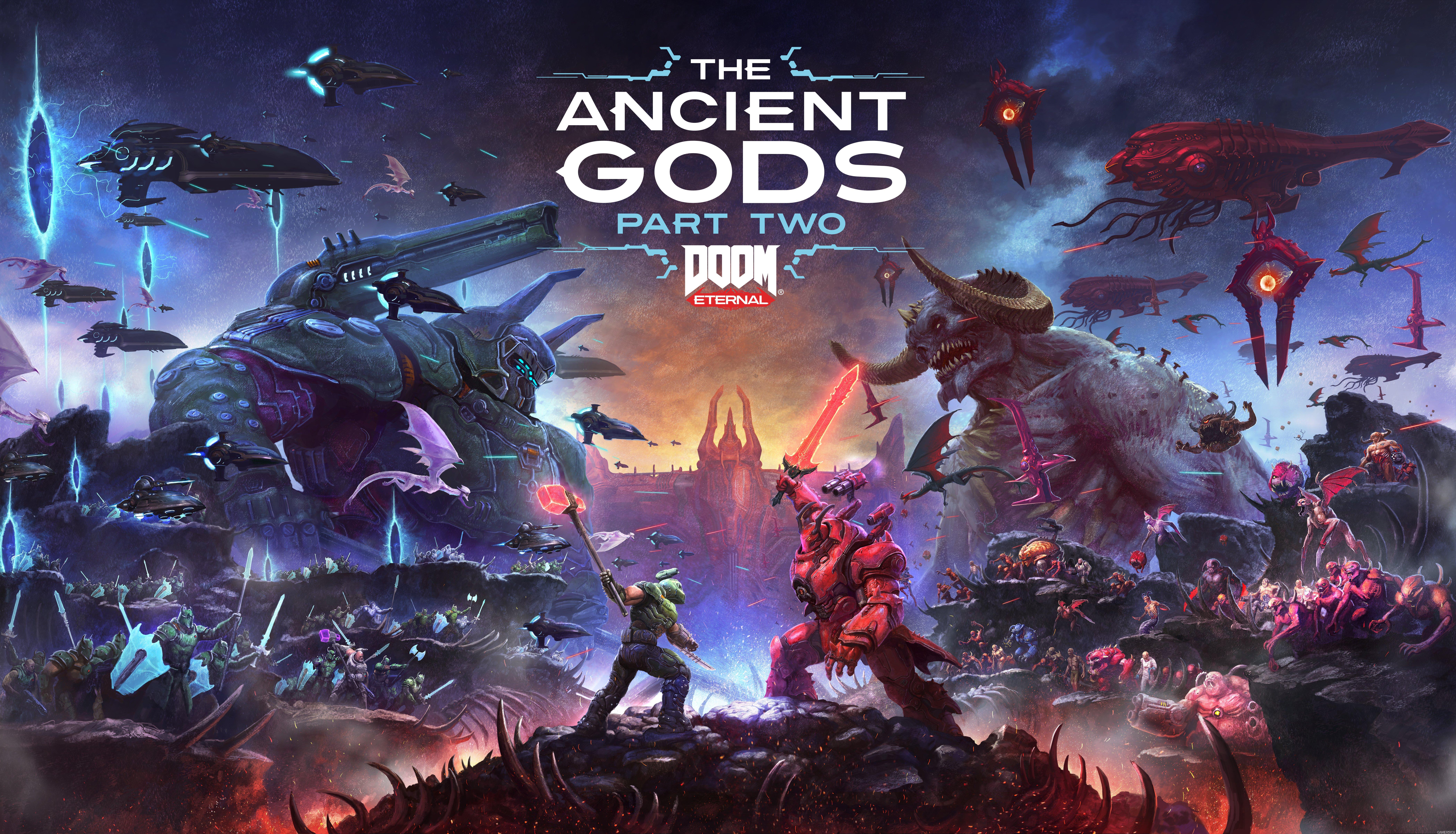 Fondos de pantalla Doom Eternal The Ancient Gods Part Two