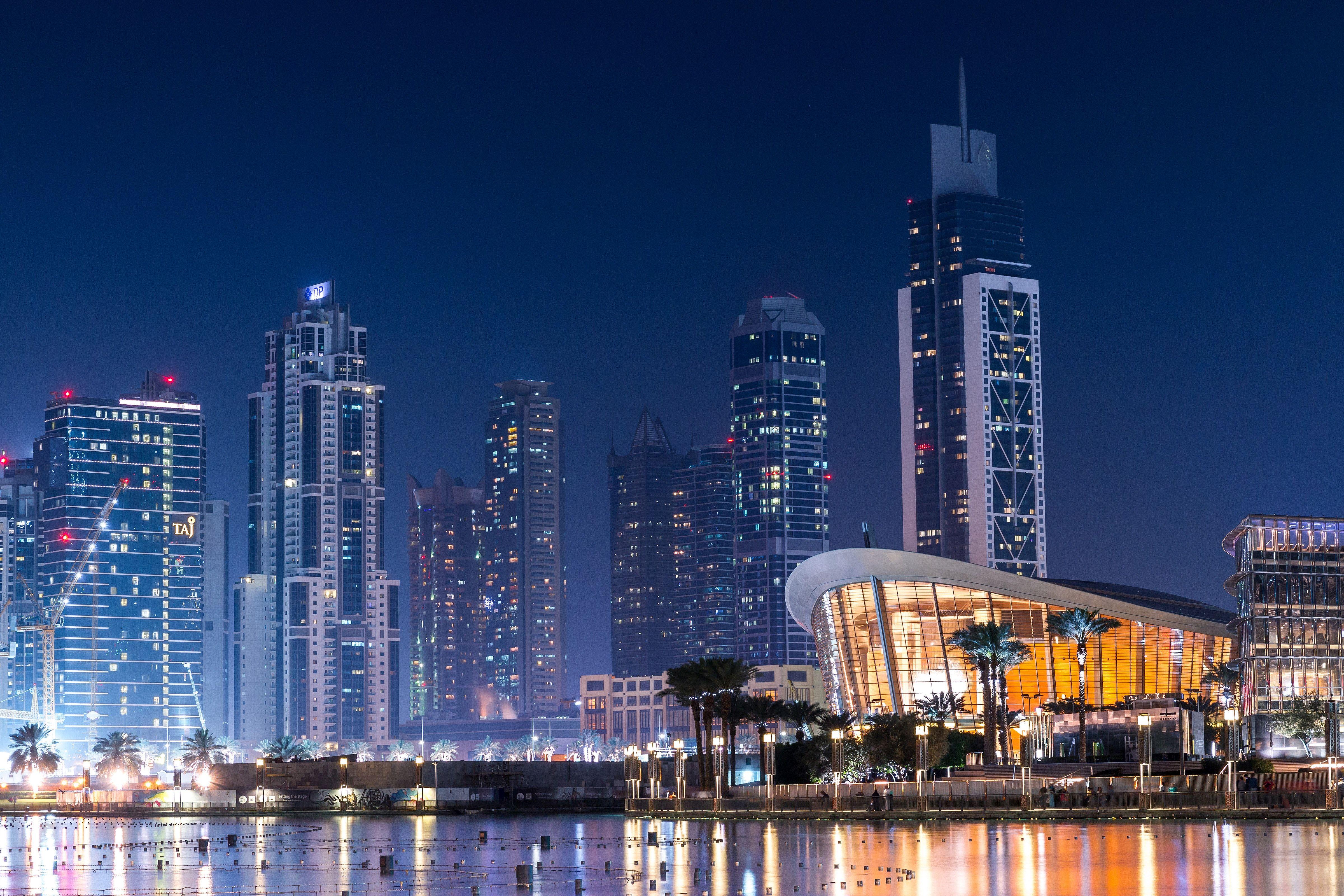 Fondos de pantalla Downtown Dubai