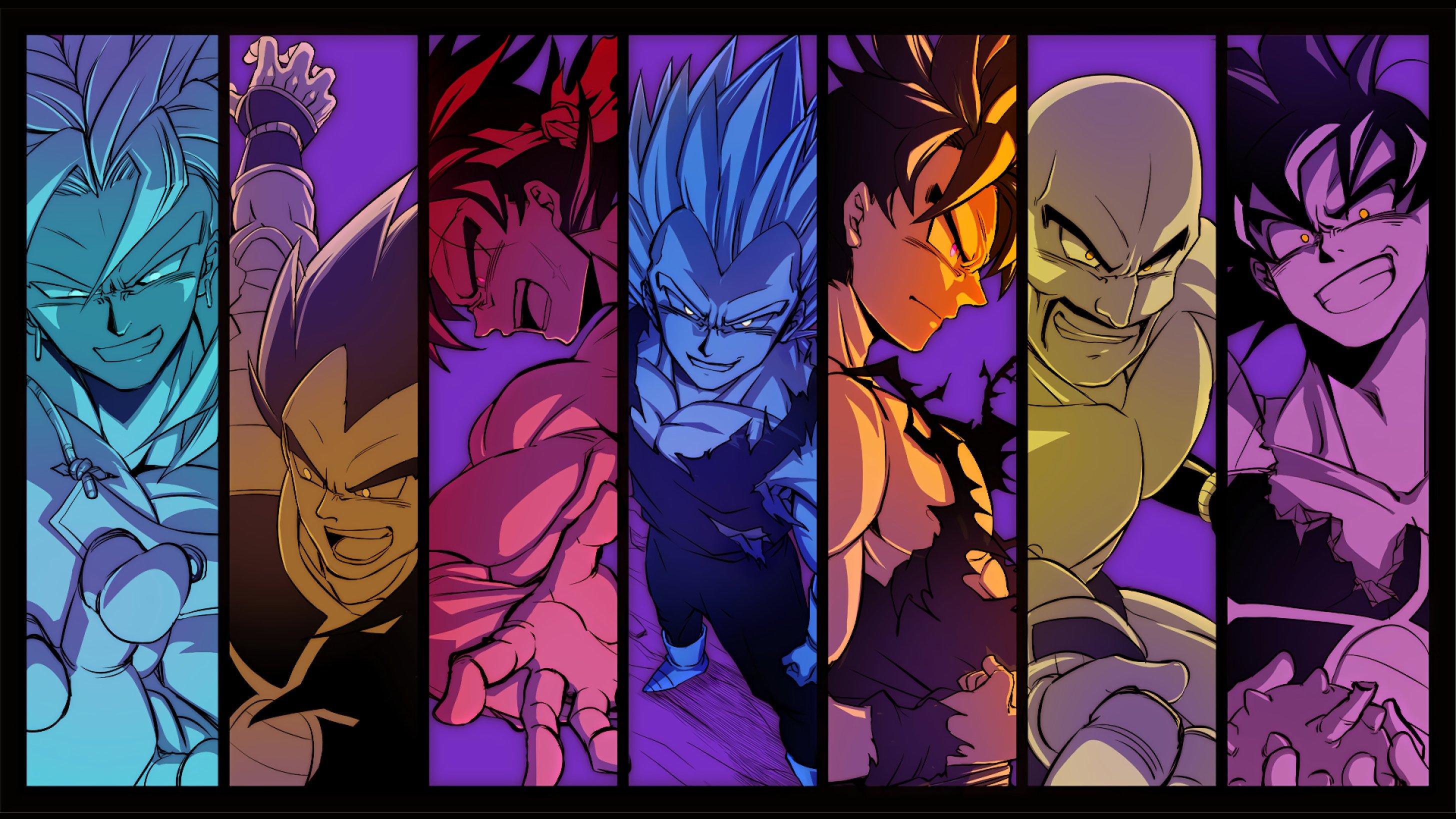 Fondos de pantalla Anime Dragon Ball Personajes