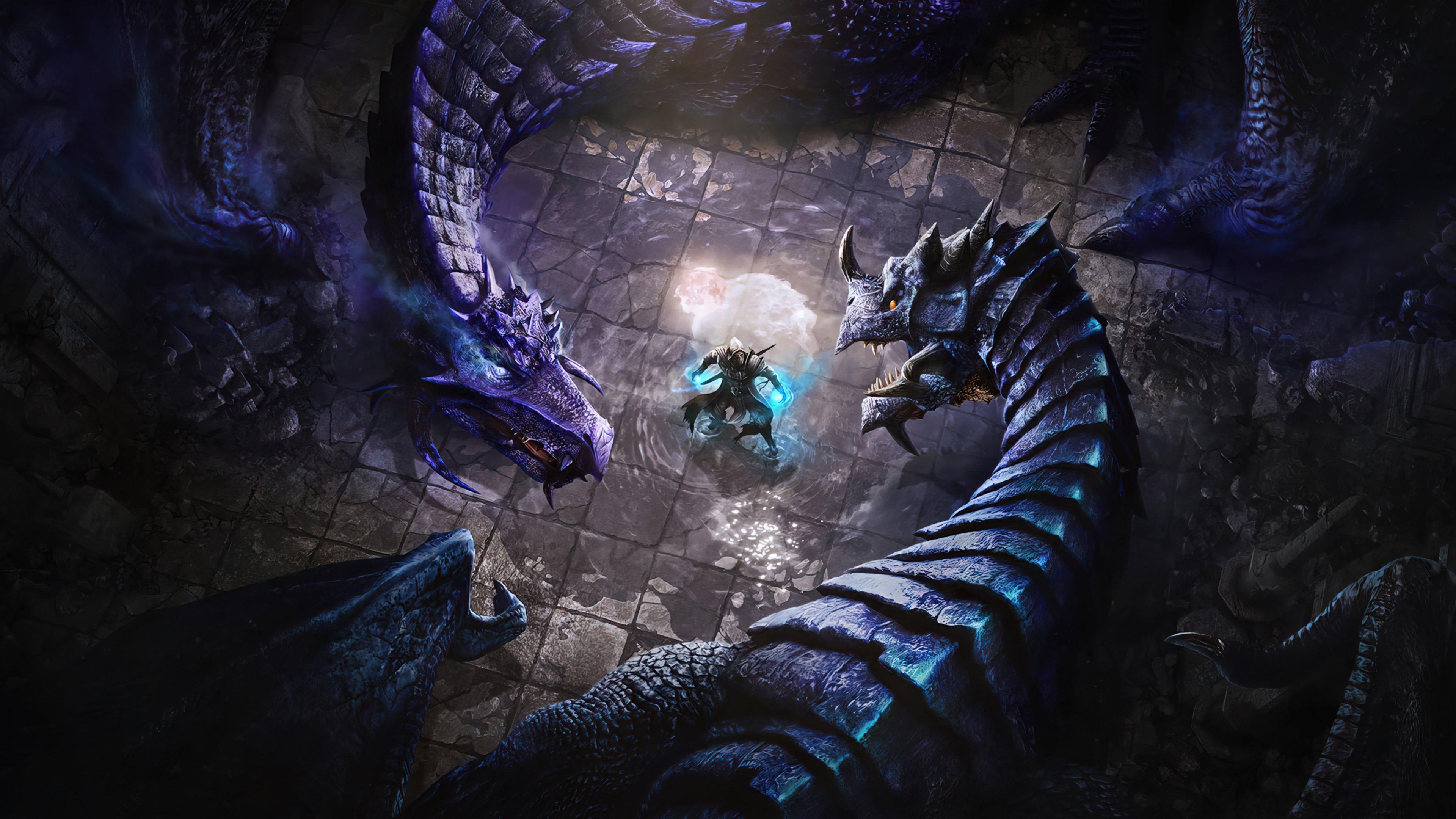 Fondos de pantalla Dragones de The Elder Scrolls Online