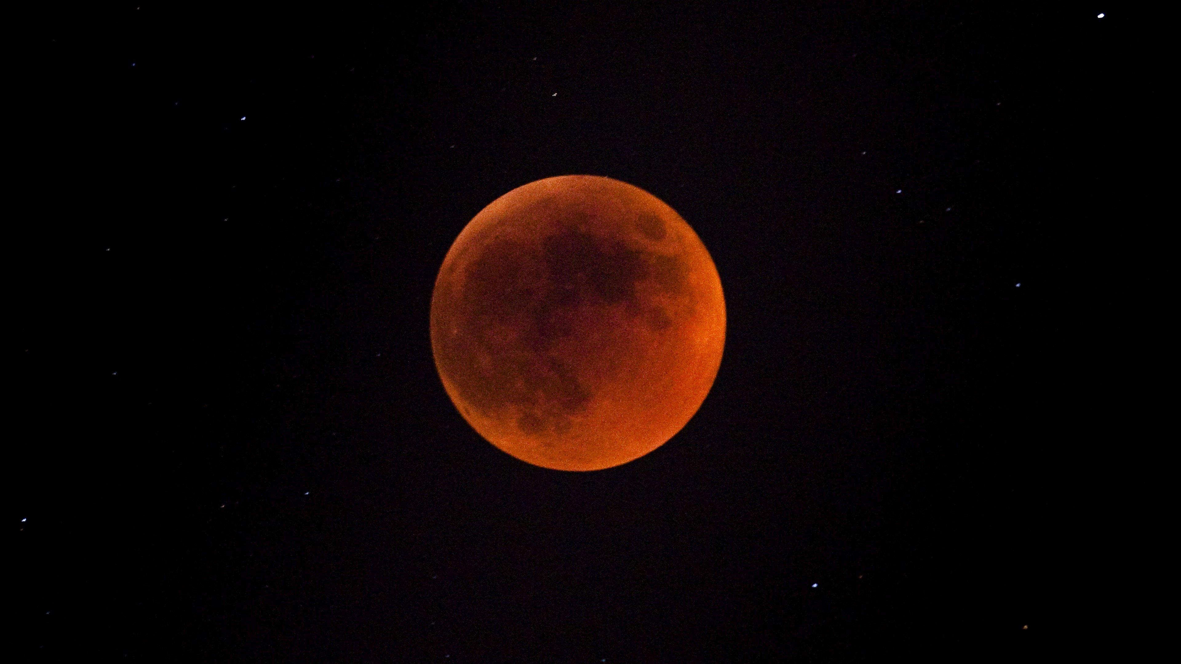 Fondo de pantalla de Eclipse lunar Imágenes