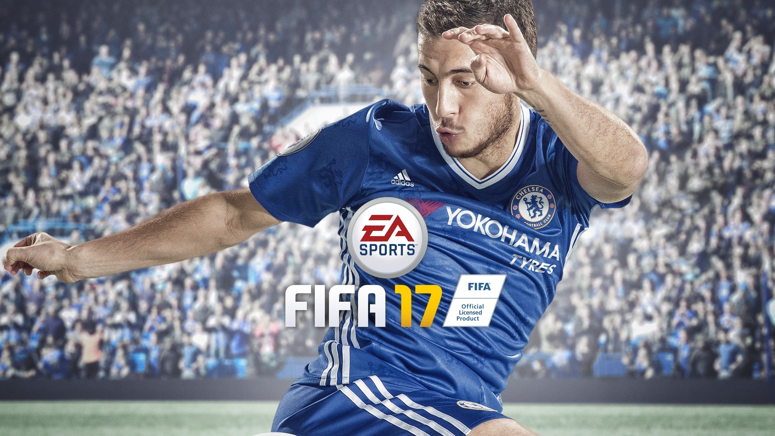 Wallpaper Eden Hazard in Fifa 17