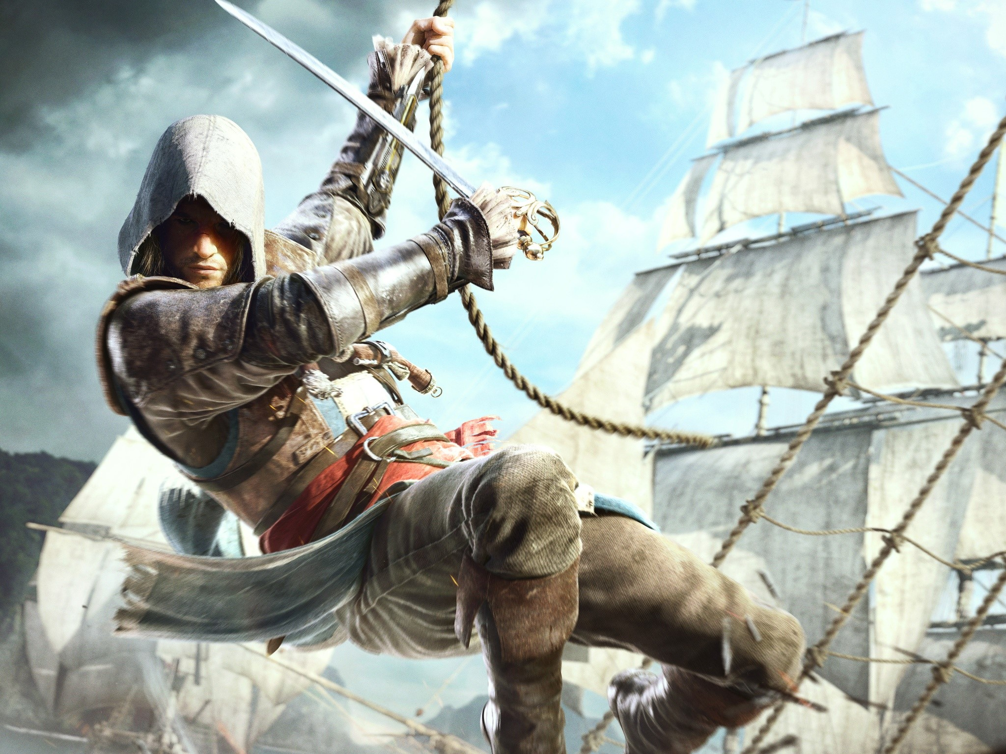 Fondos de pantalla Edward kenway en Assassins Creed 4
