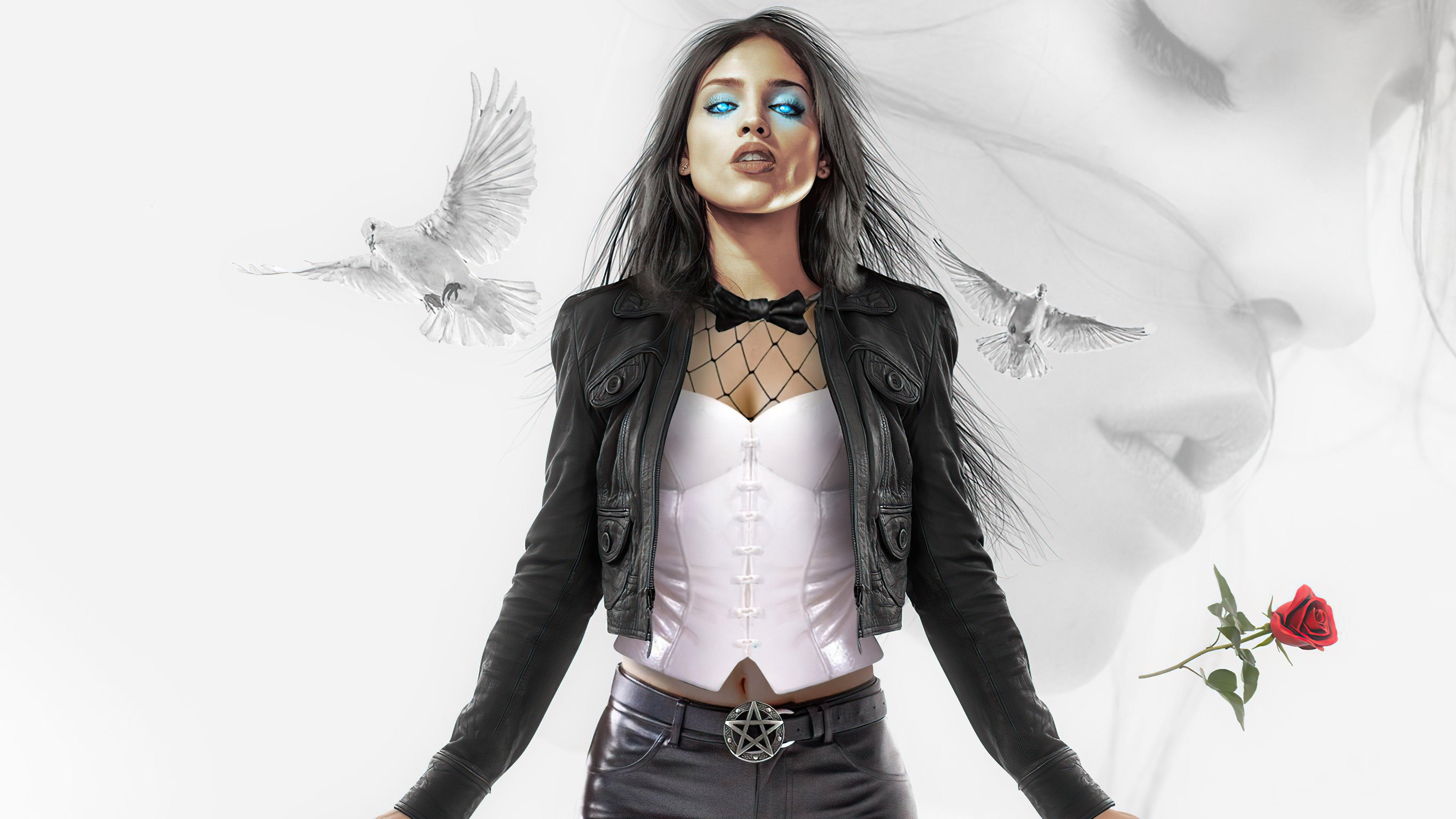 Wallpaper Eiza Gonzalez as Zatanna