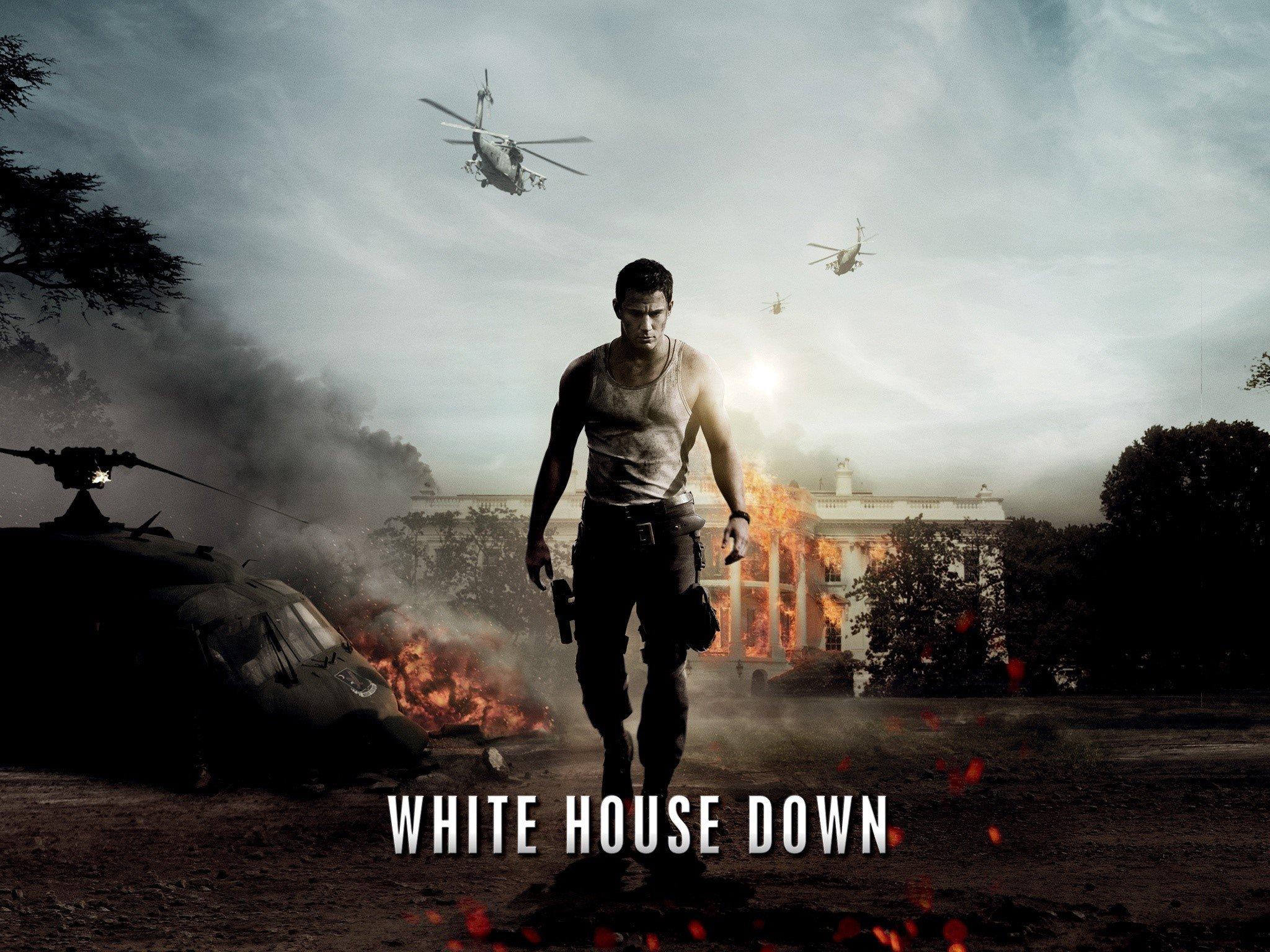 Fondos de pantalla El asalto a la casa Blanca