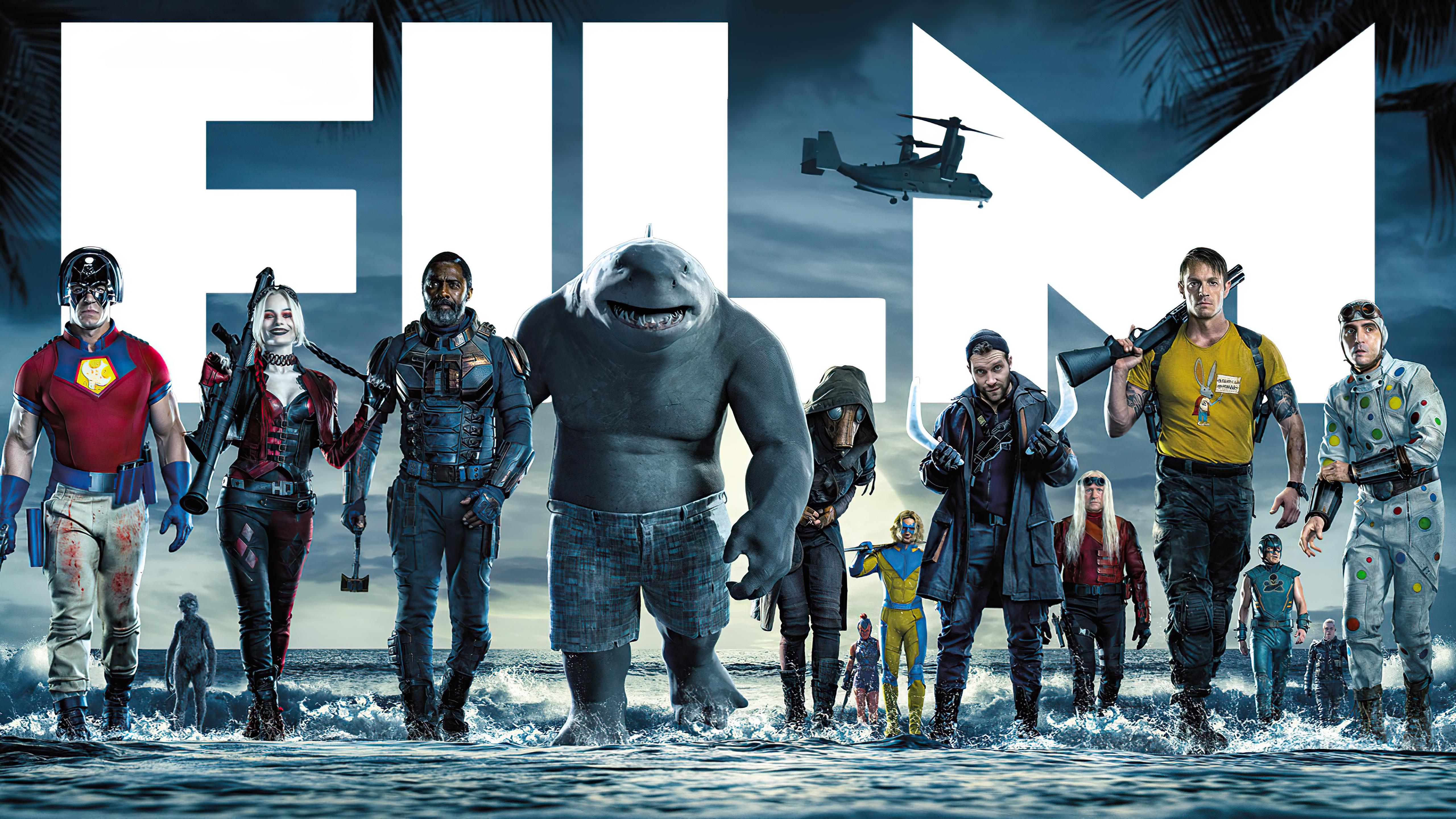 Wallpaper The Suicide Squad Team