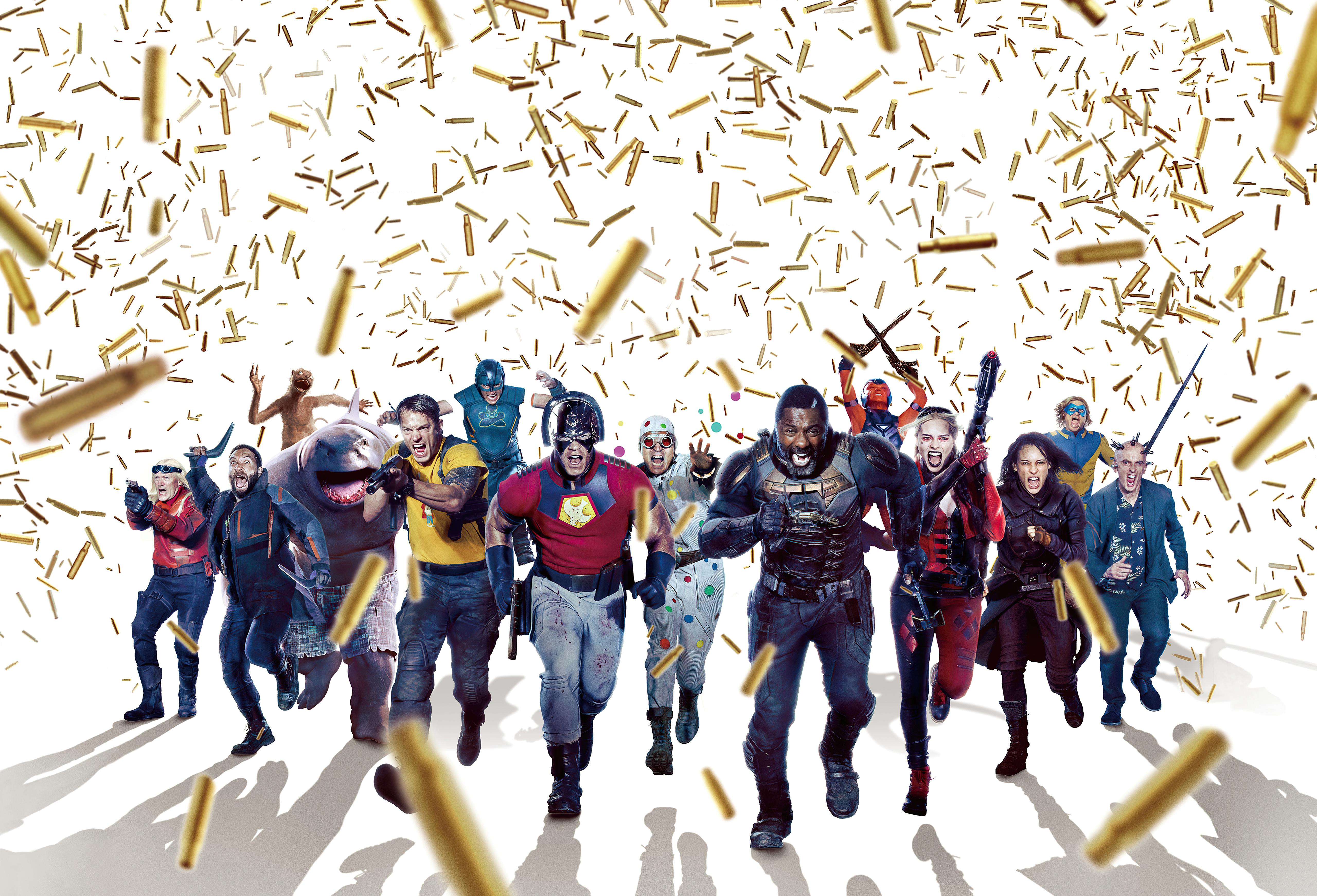 Wallpaper The suicide squad 2021