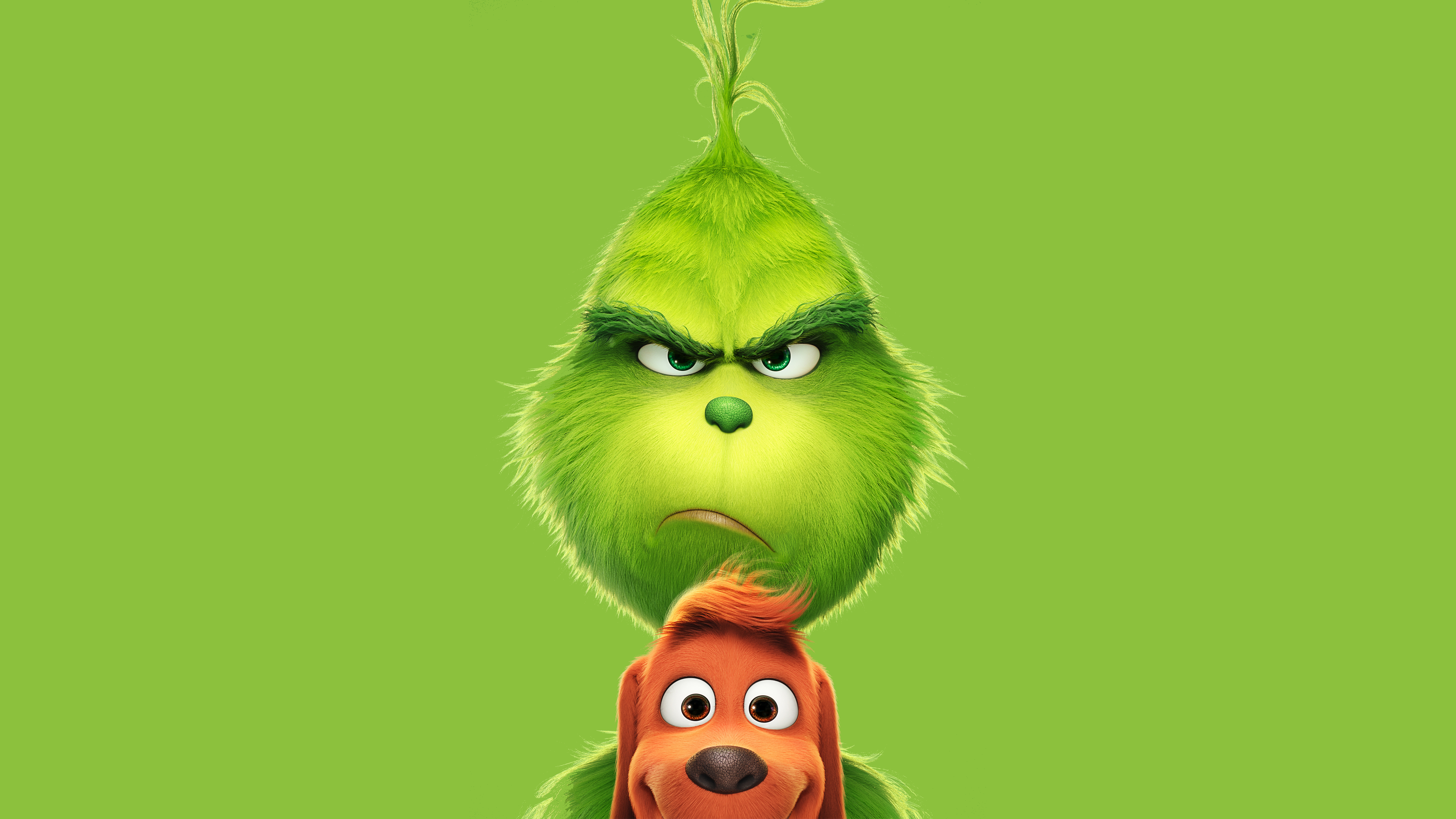 Wallpaper The Grinch Movie Animated film