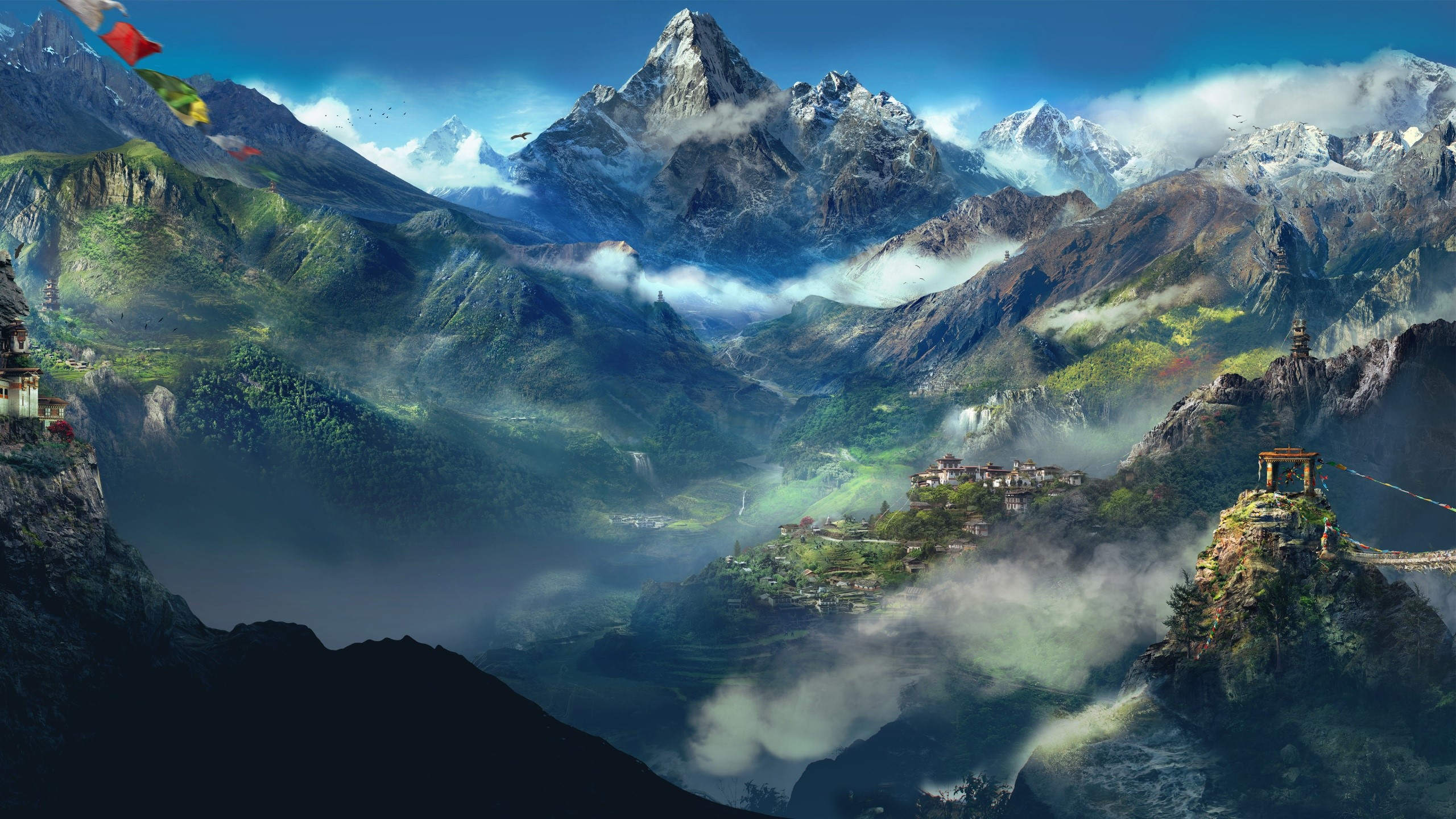 Wallpaper The Himalayas in Far Cry
