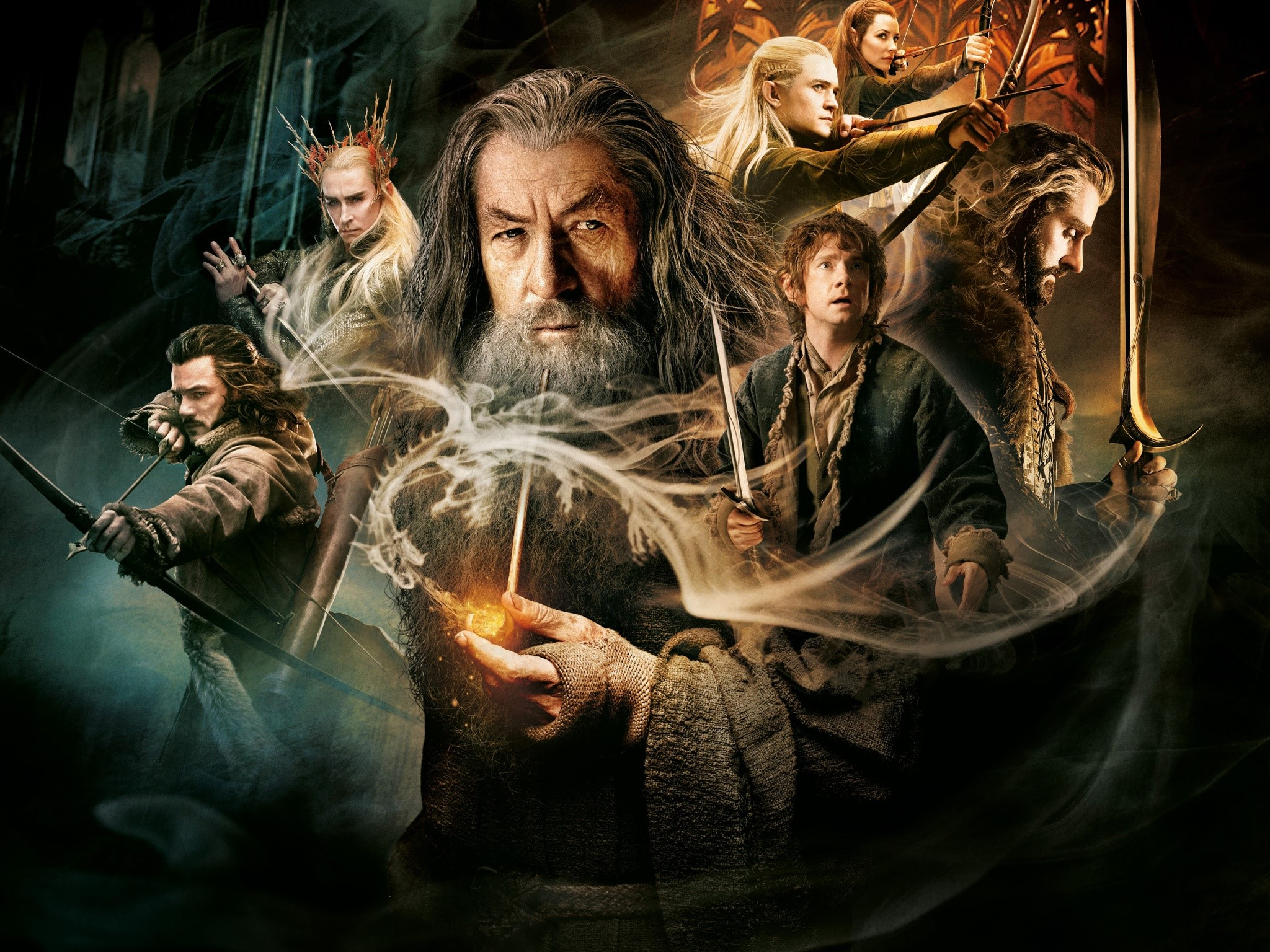 Wallpaper The hobbit 2