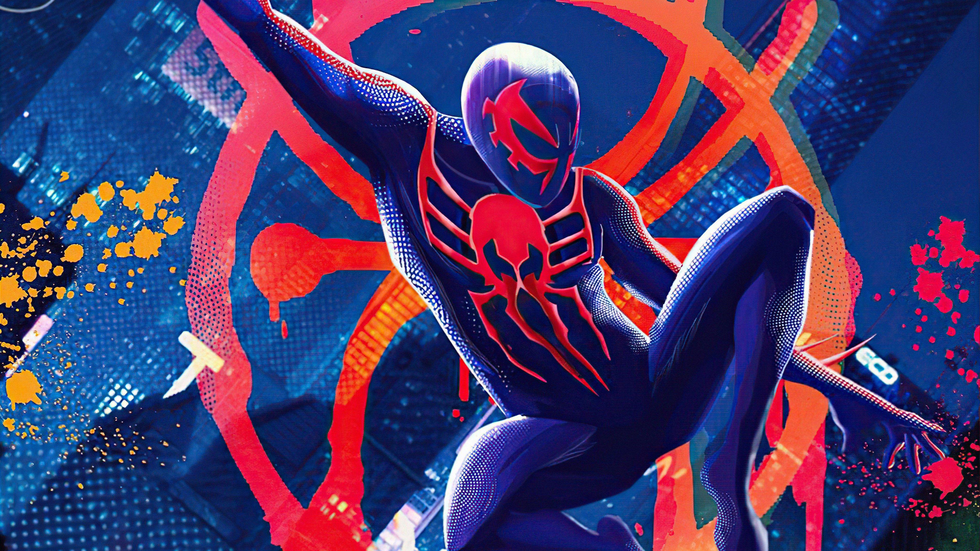 Fondos de pantalla El hombre araña 2099 en el multiverso