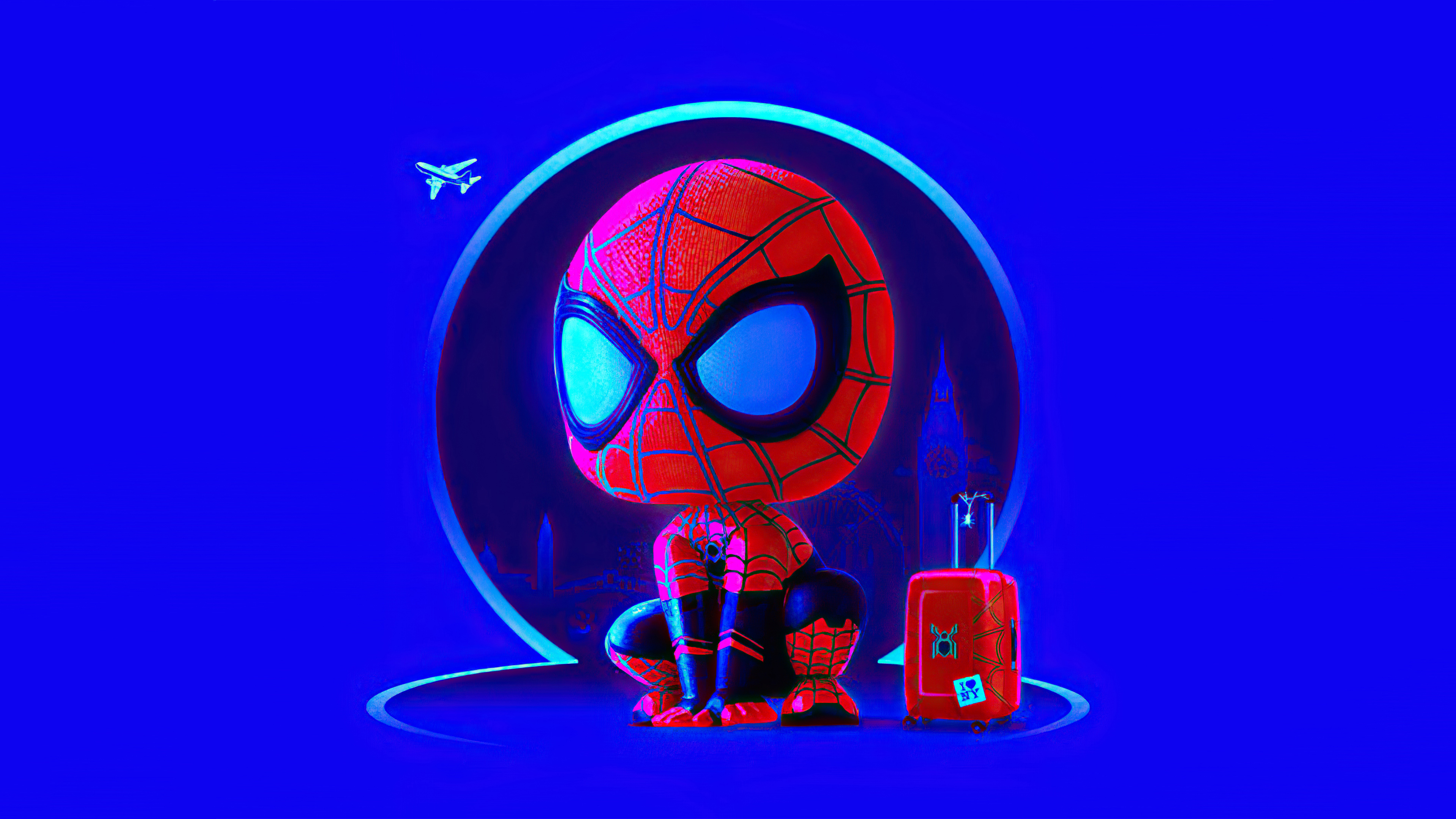 Fondos de pantalla El hombre araña Arte digital