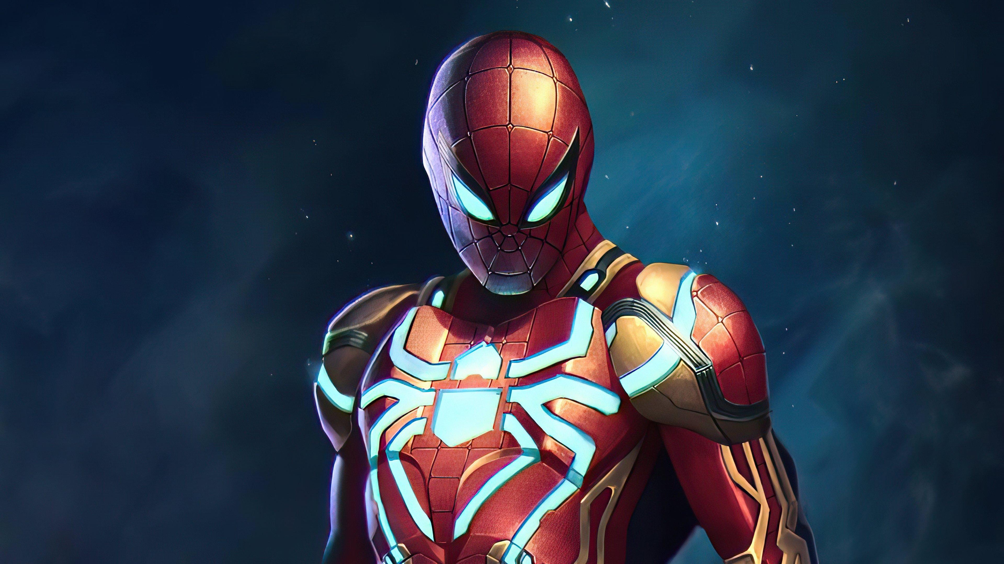 Fondos de pantalla El hombre araña con traje nuevo