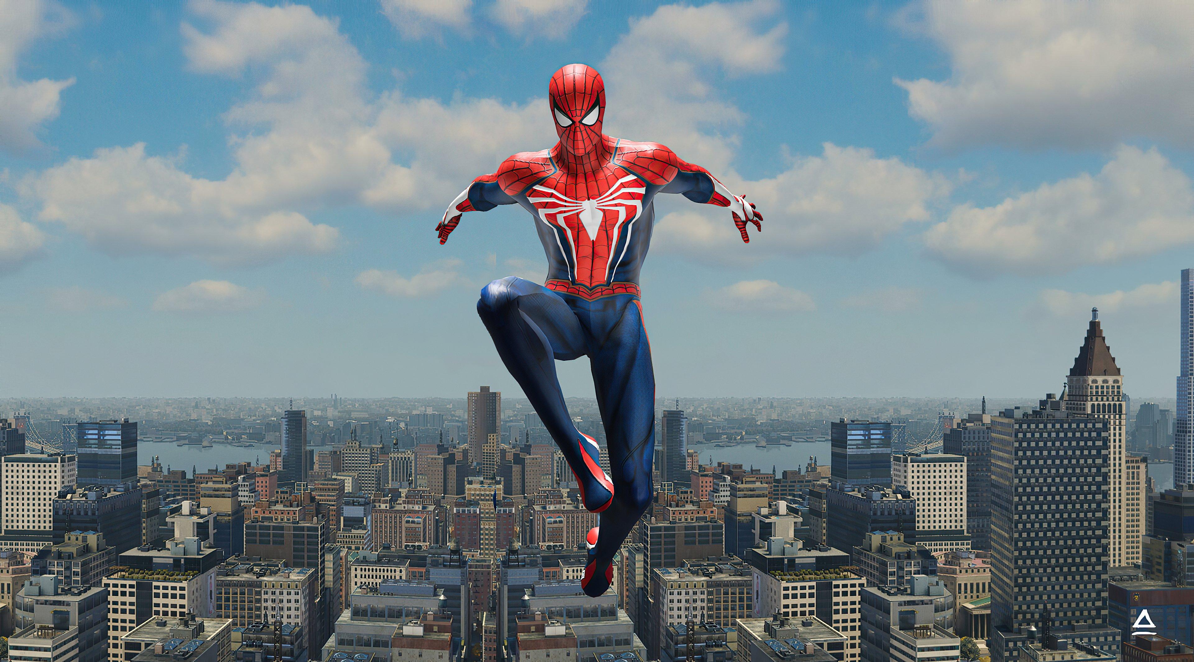 Fondos de pantalla El hombre araña en Nueva York