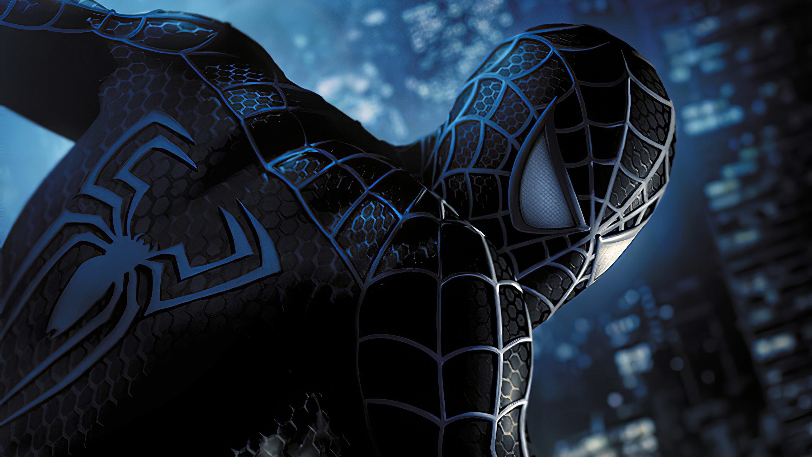 Wallpaper Black Spiderman