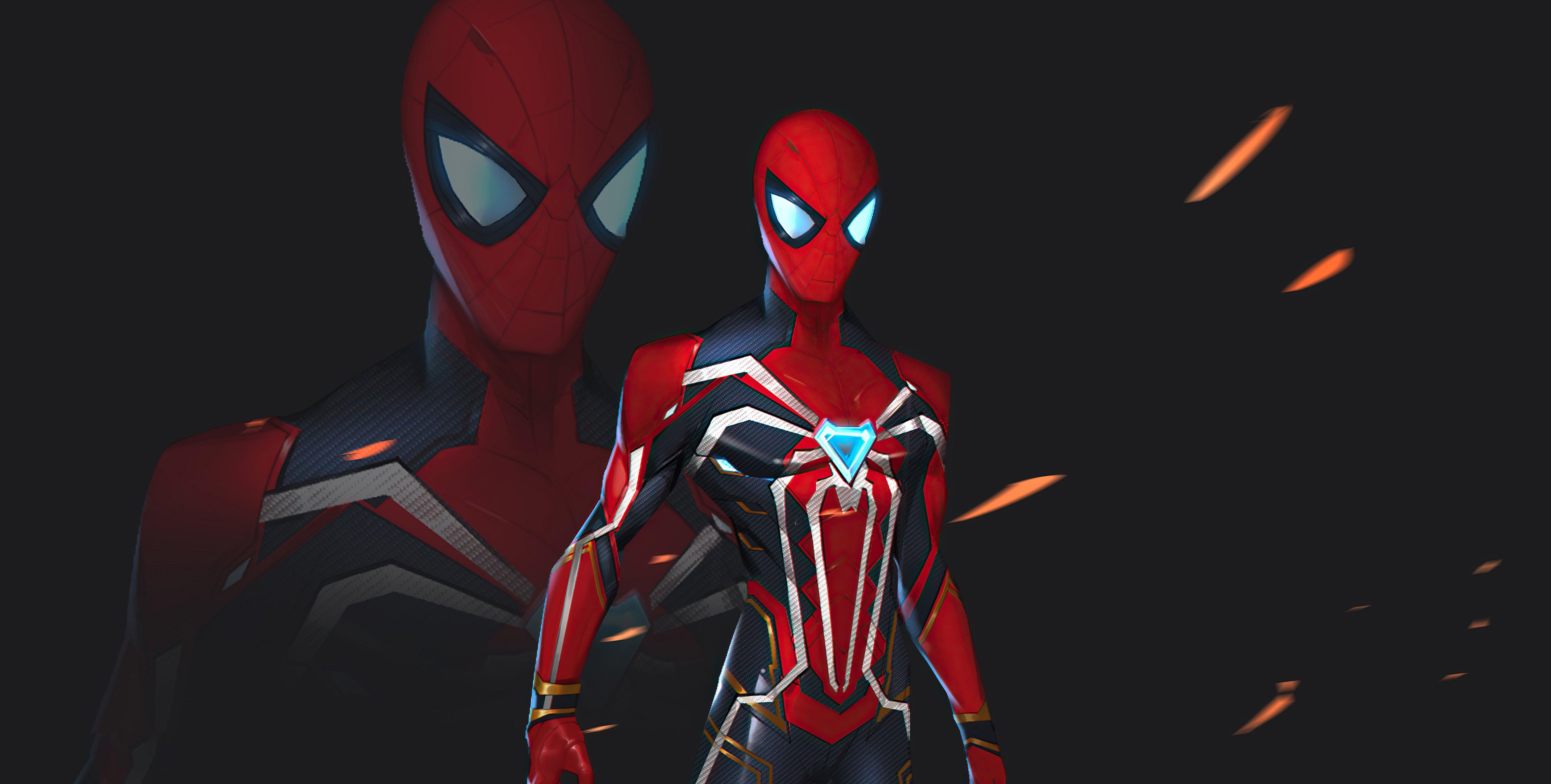 Fondos de pantalla El hombre araña nuevo traje 2021