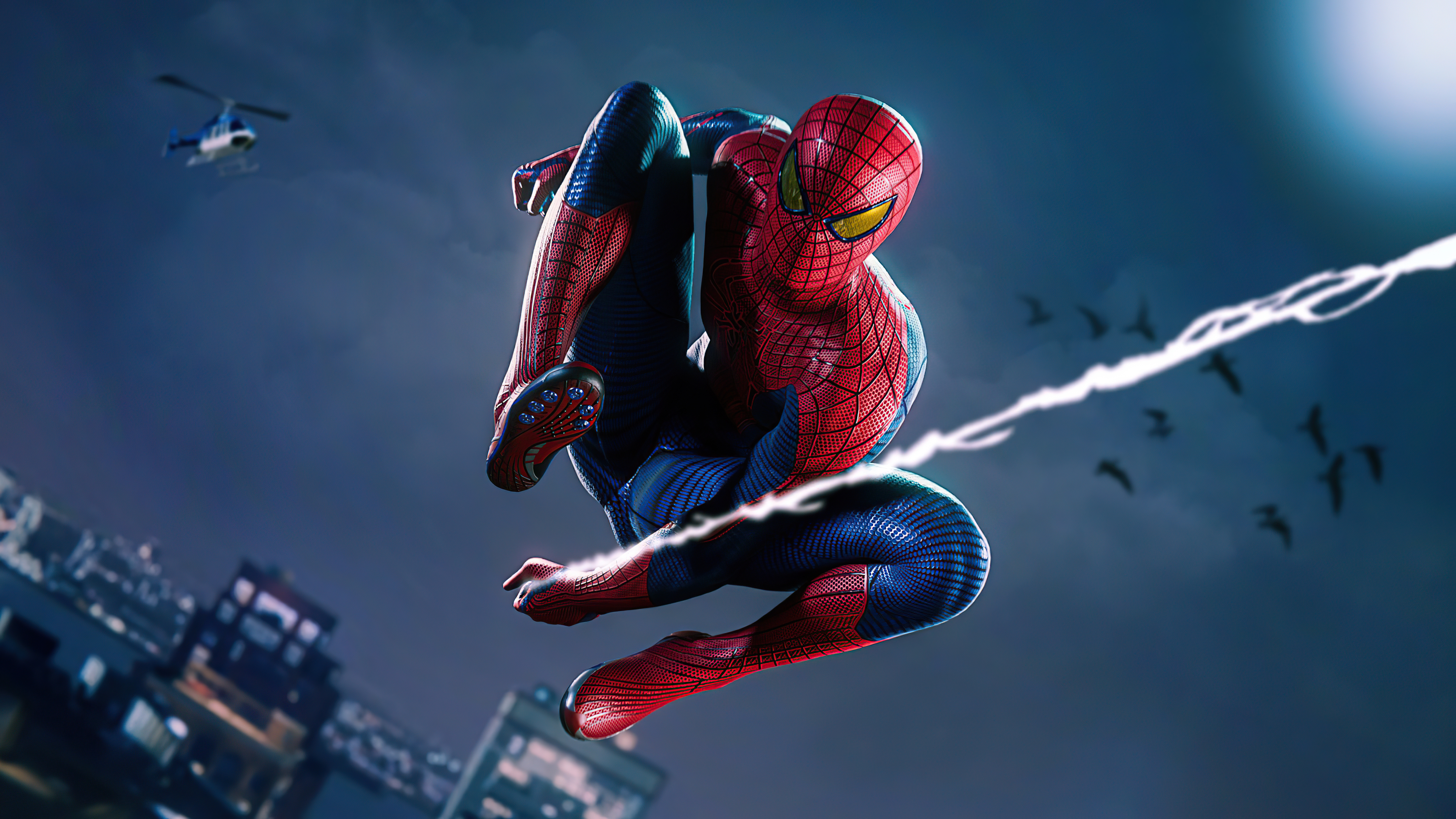Wallpaper Spiderman Remastered PS5