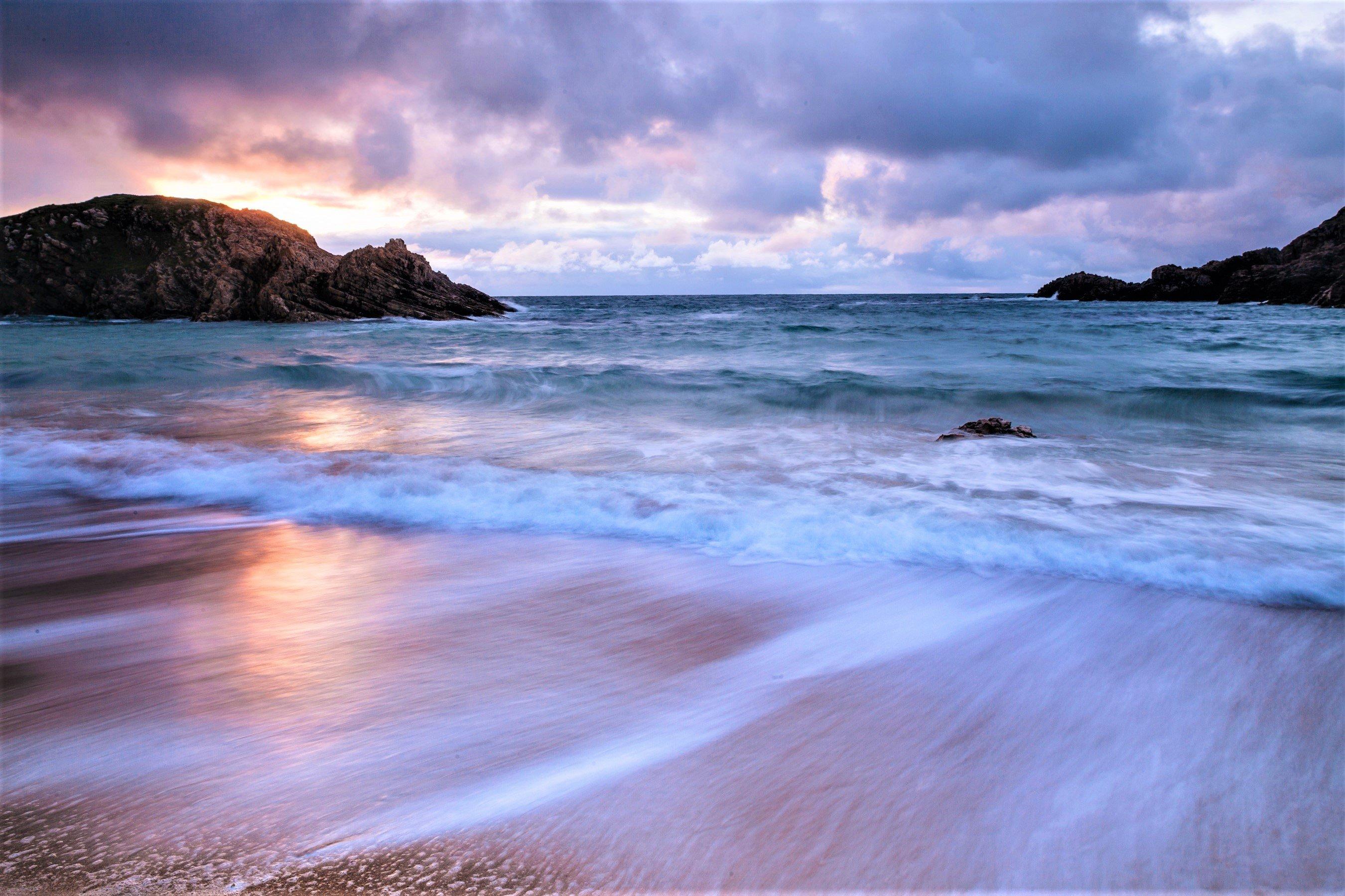 Fondos de pantalla El horizonte en la playa