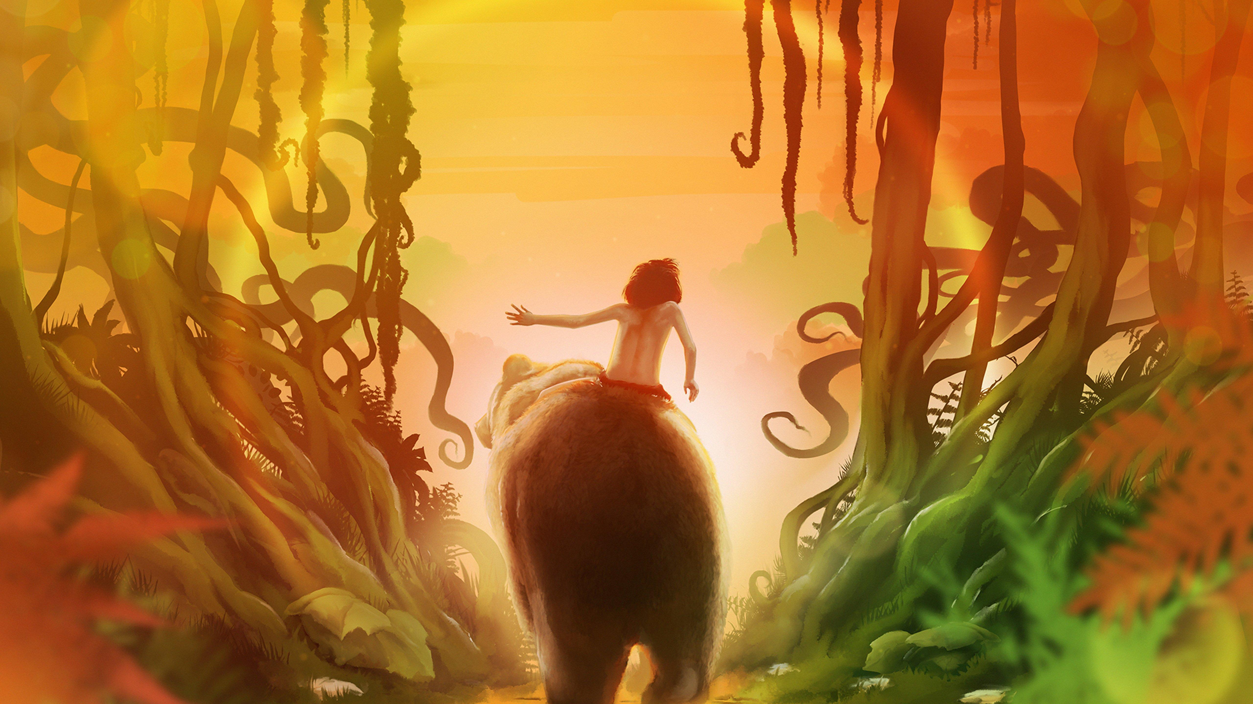 Fondos de pantalla El libro de la selva