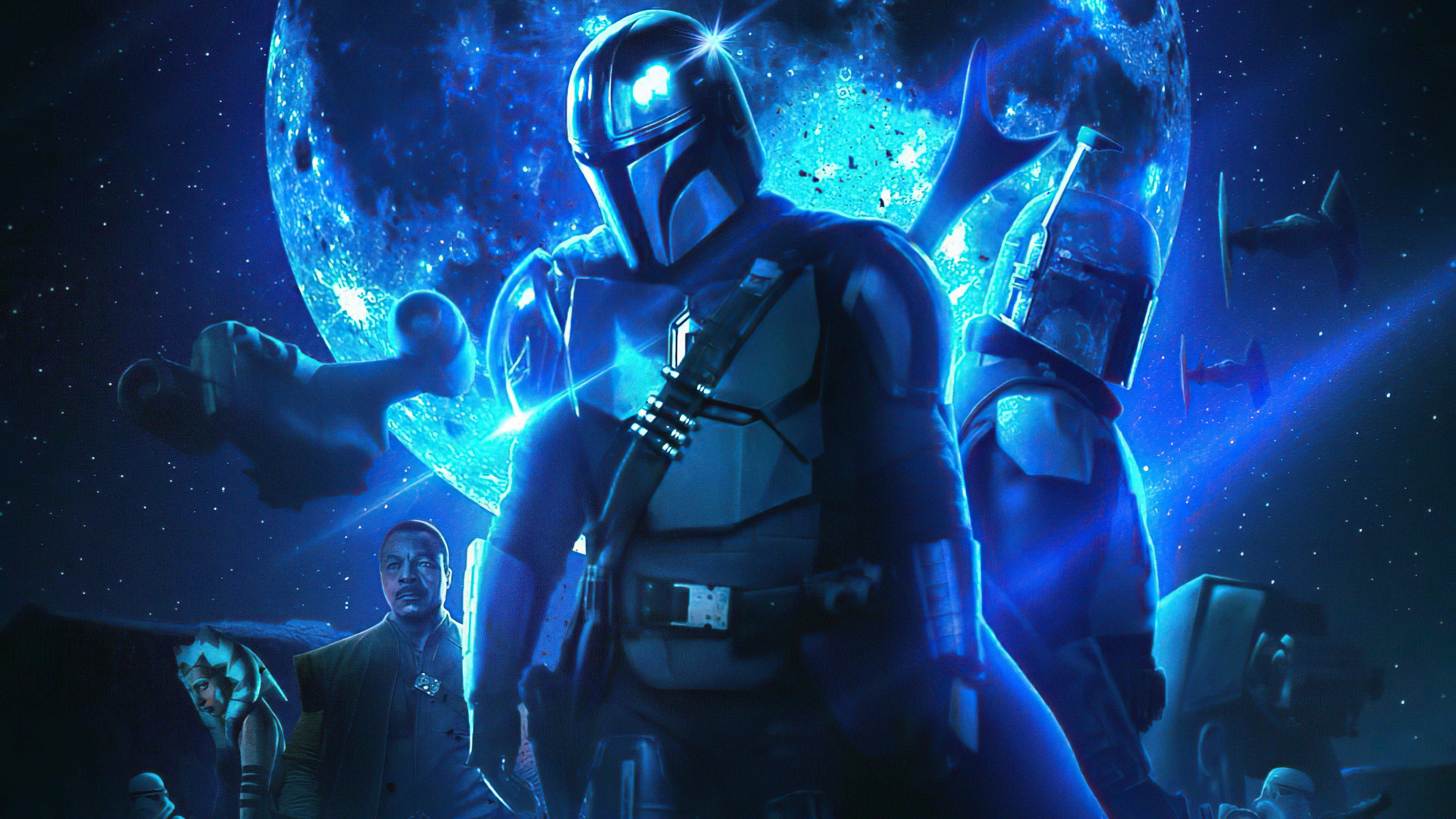 Fondos de pantalla El Mandaloriano Star Wars Temporada 3