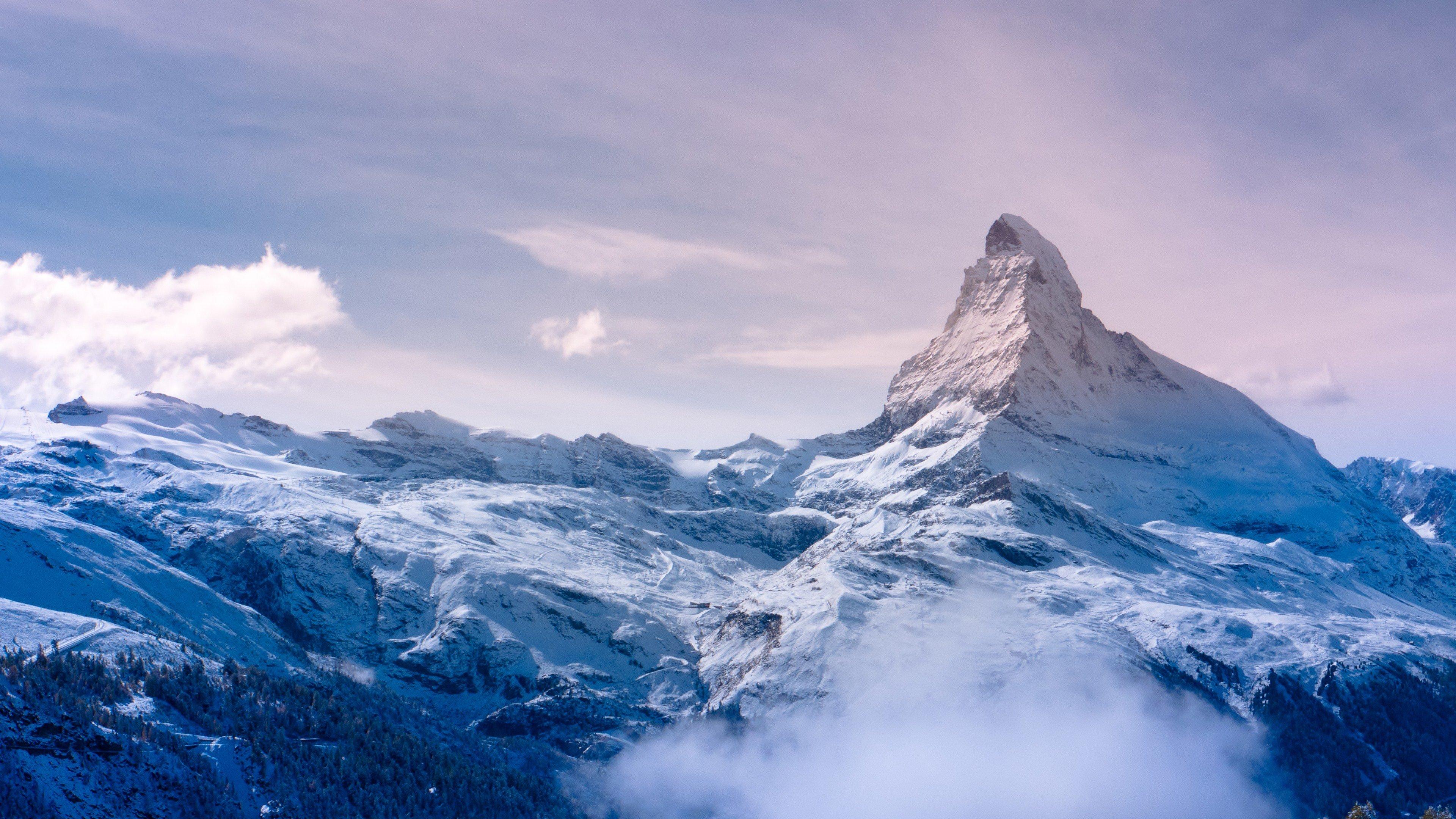 Fondos de pantalla El monte Cervino, Suiza, Zermatt