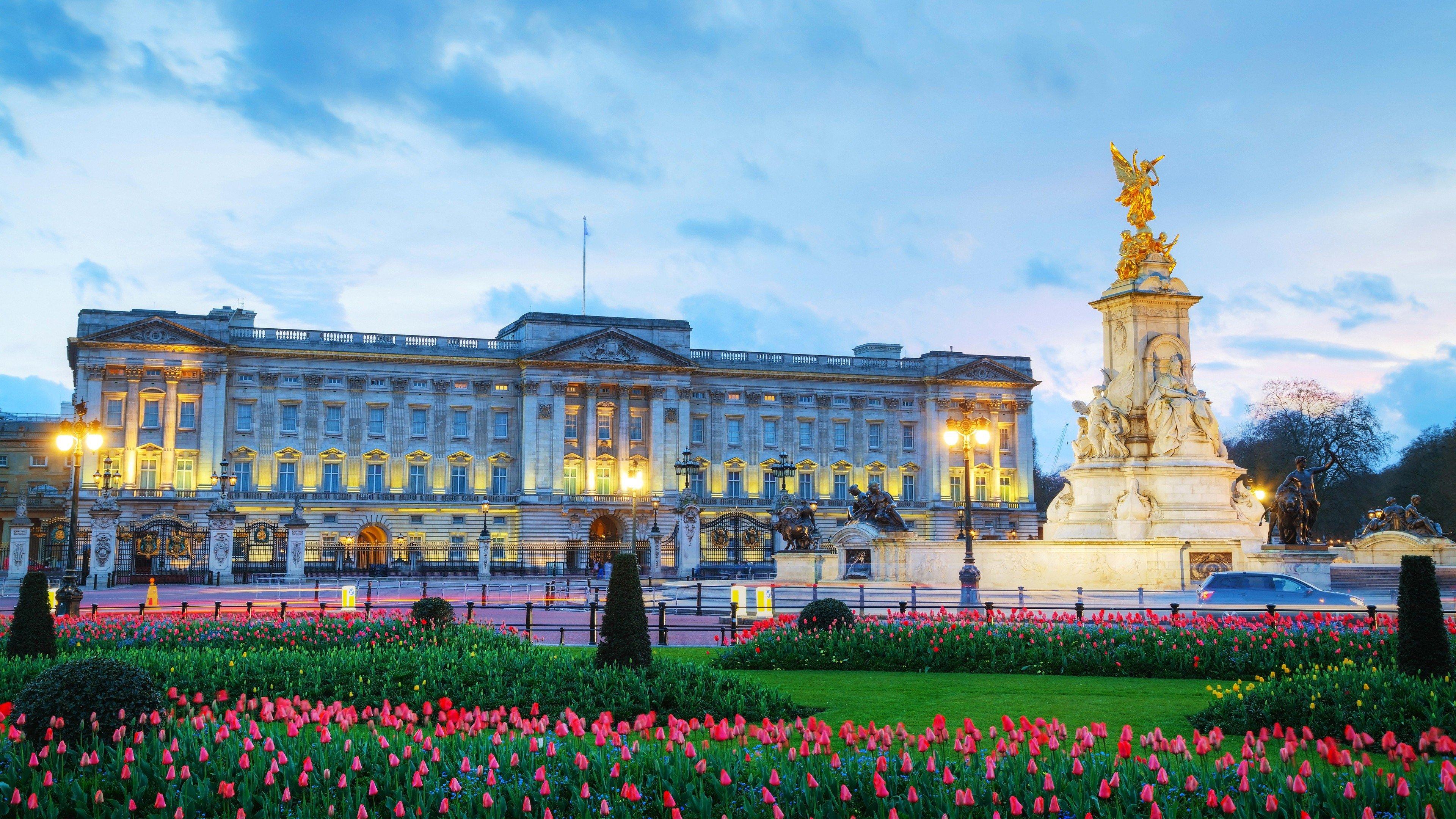 Fondos de pantalla El palacio de Buckingham