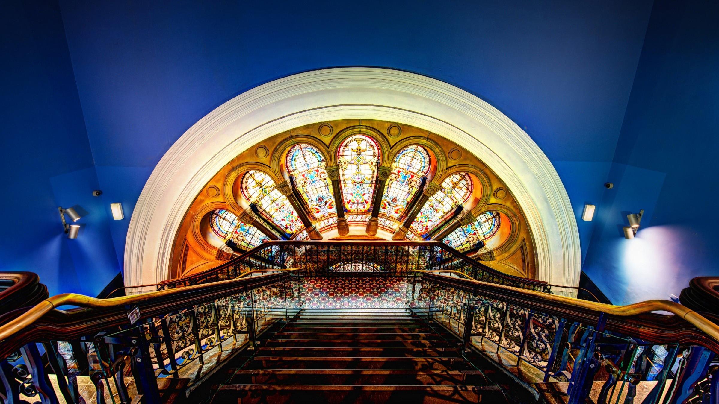 Fondo de pantalla de El Queen Victoria Building por dentro Imágenes