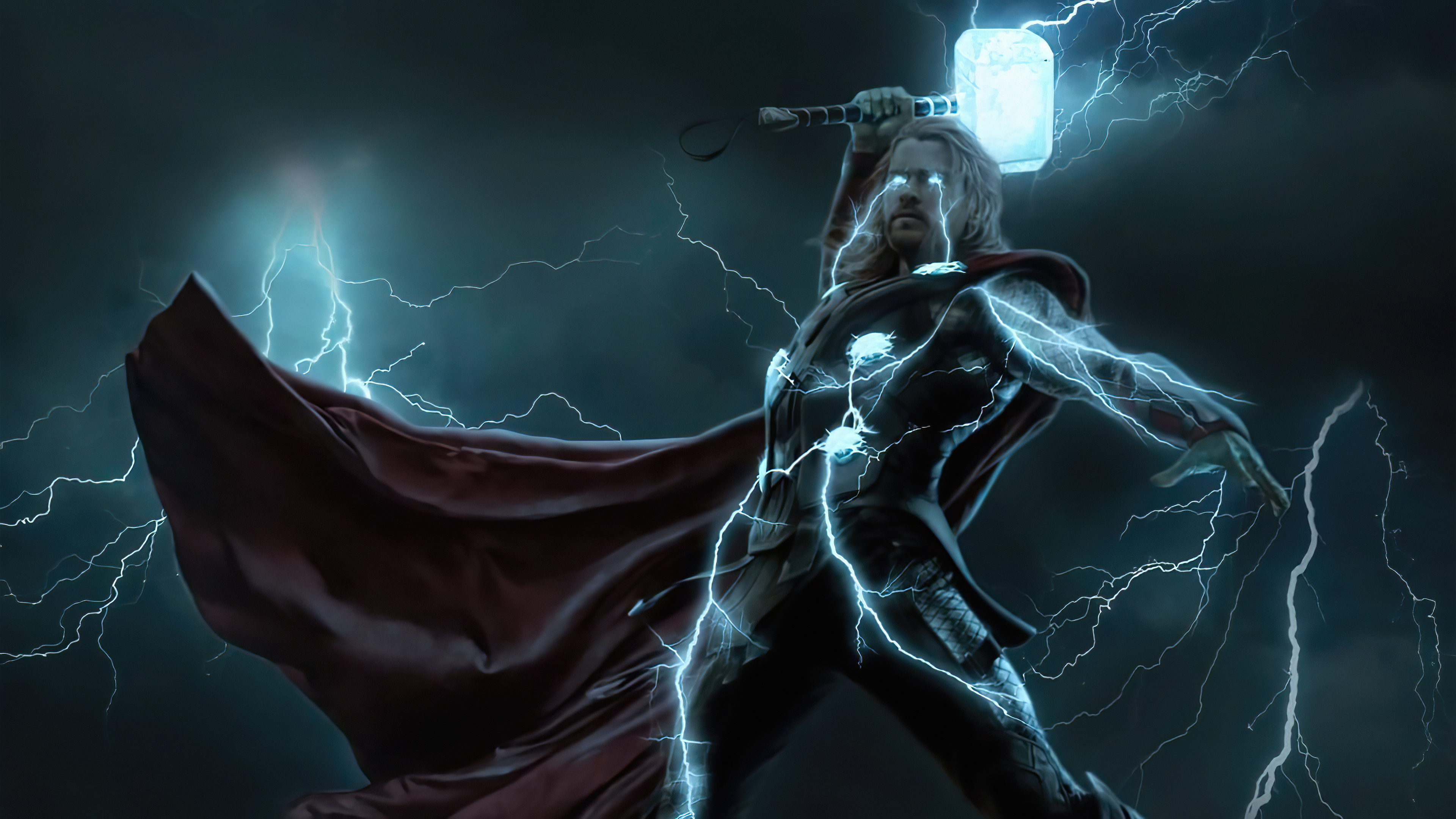 Fondos de pantalla El rayo de Thor