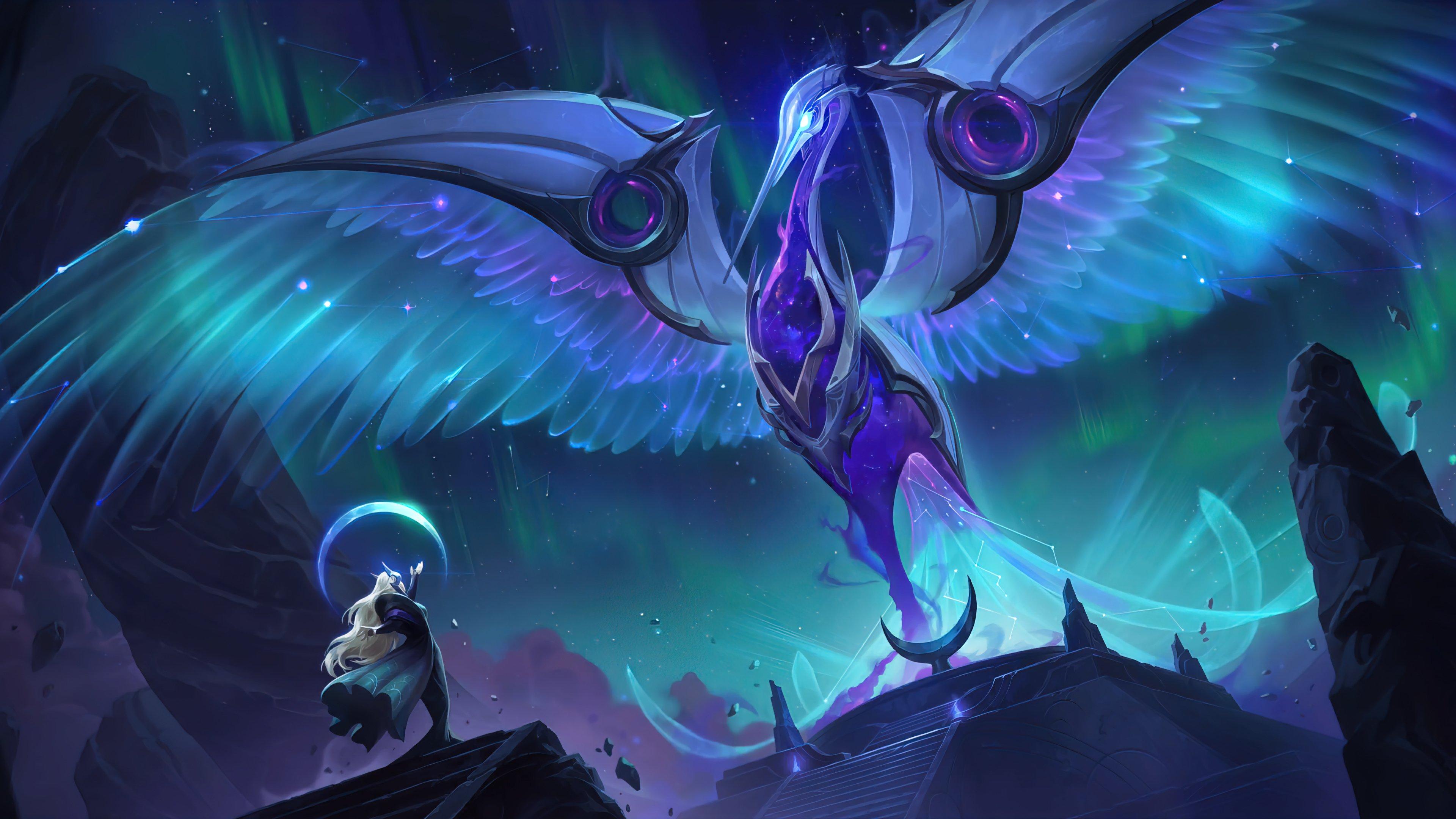 Wallpaper The flight Legends of Runeterra