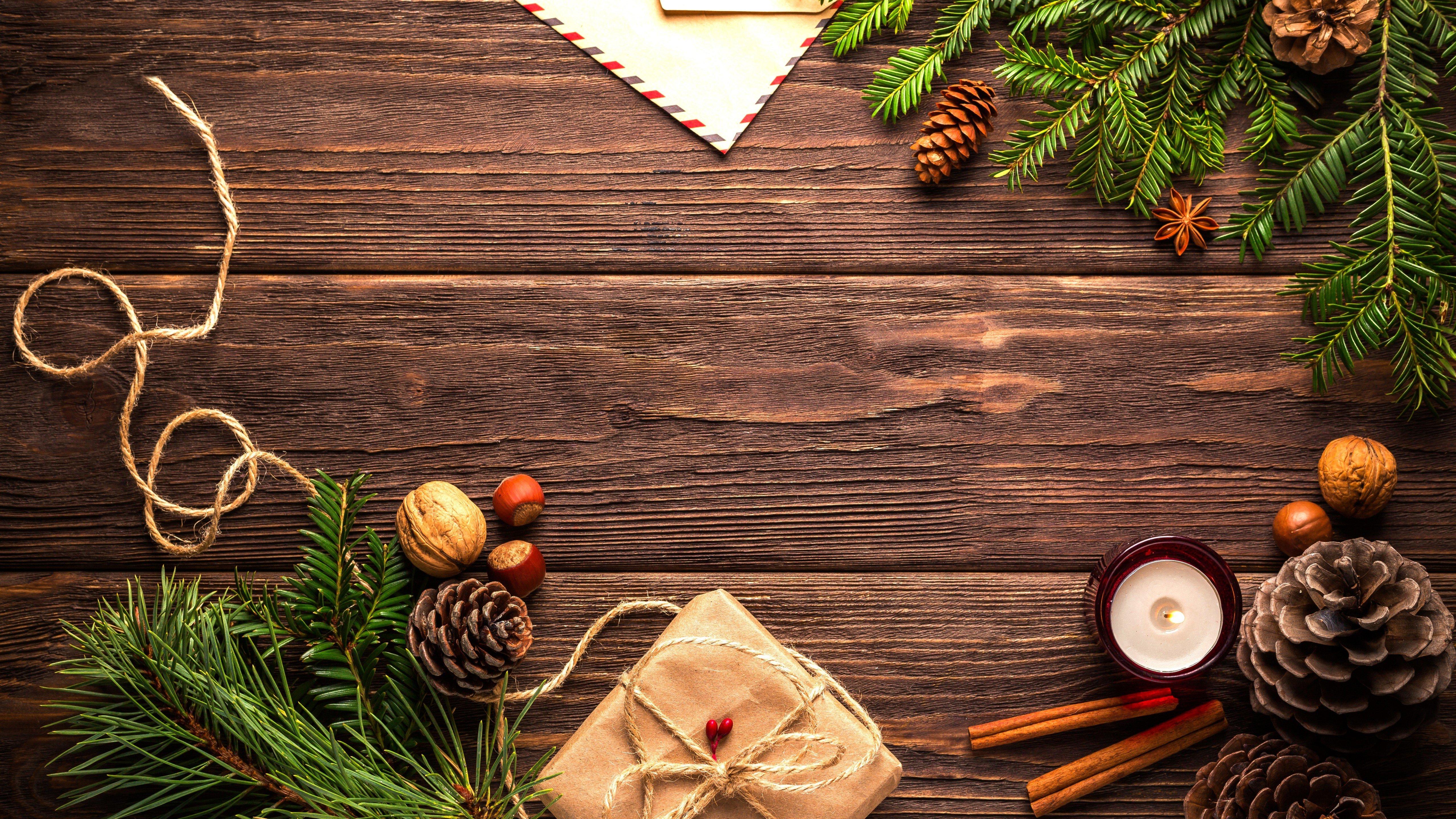 Fondos de pantalla Elementos decorativos de Navidad