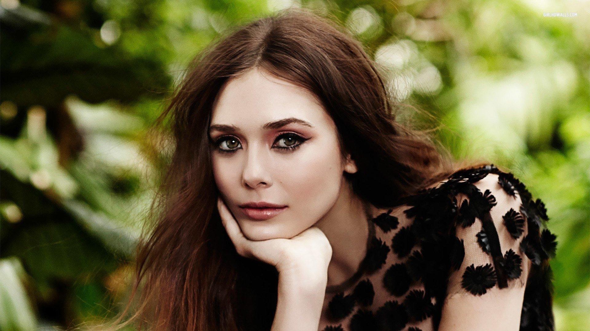 Fondo de pantalla de Elizabeth Olsen Castaña Imágenes