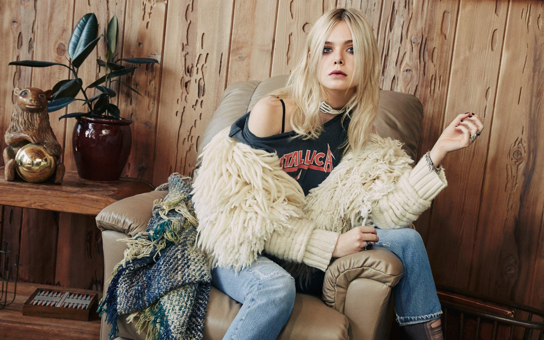 Fondos de pantalla Elle Fanning en photoshoot