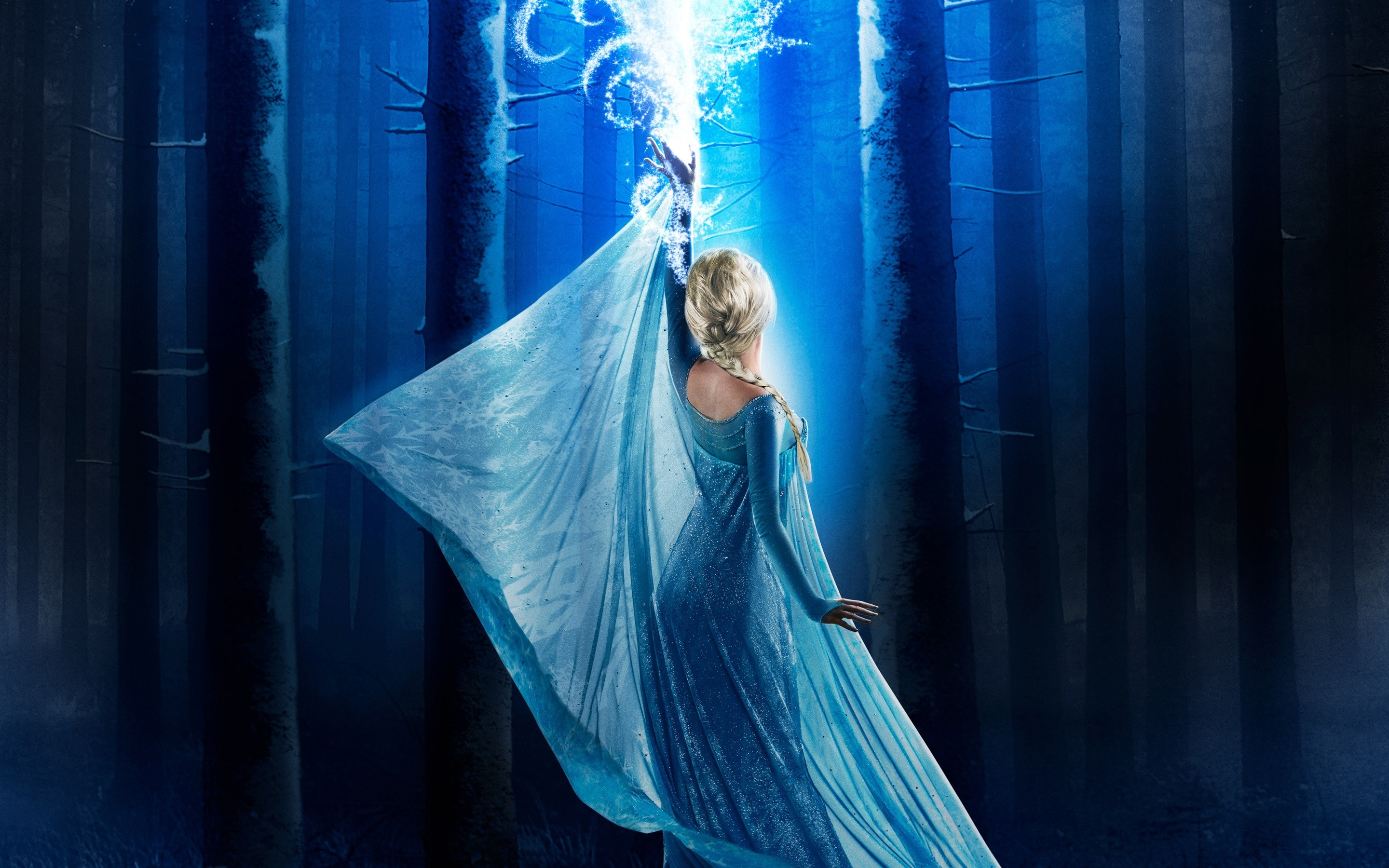 Wallpaper Elsa in Once upon a time