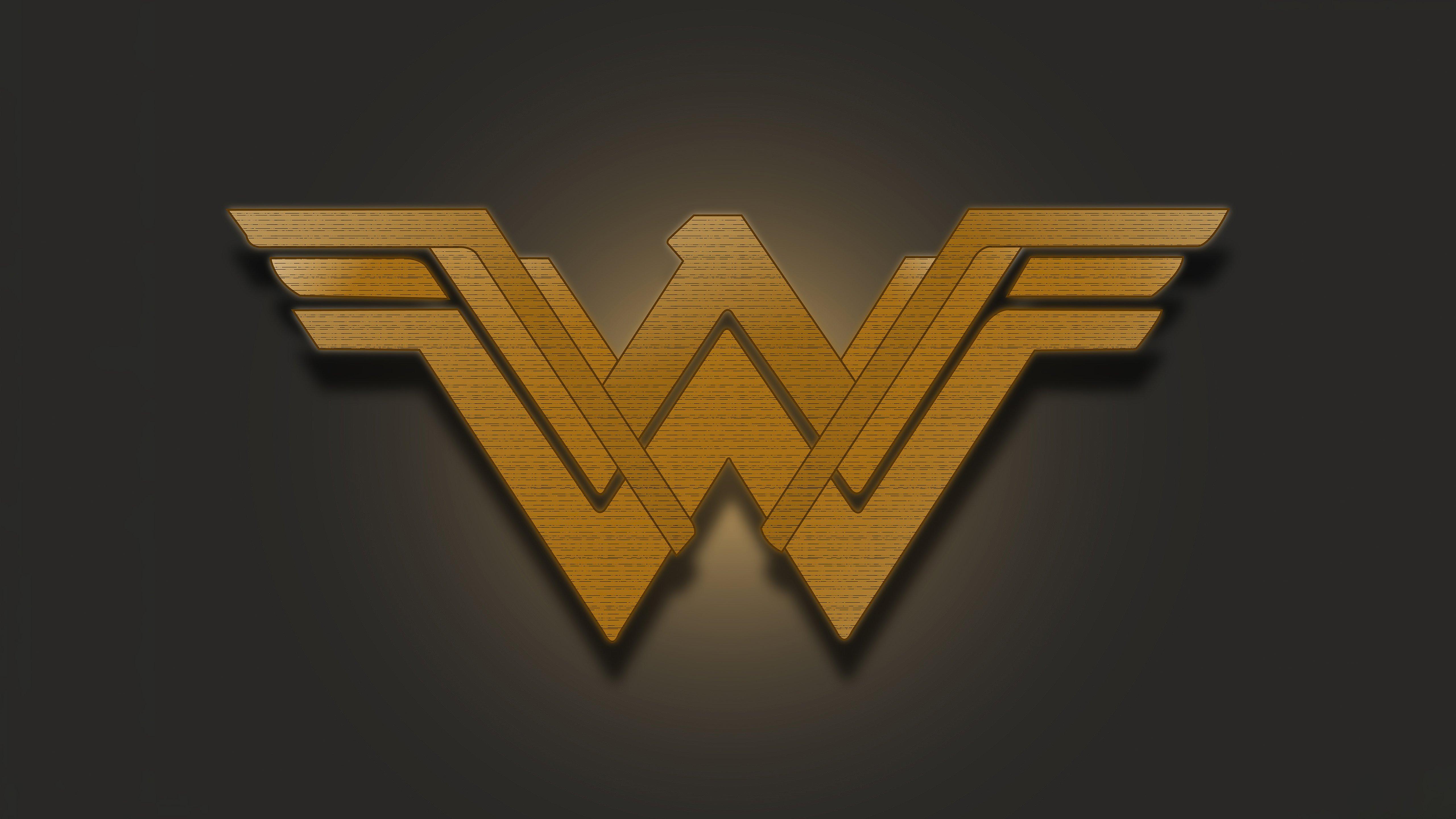 Wallpaper Wonder Woman Emblem