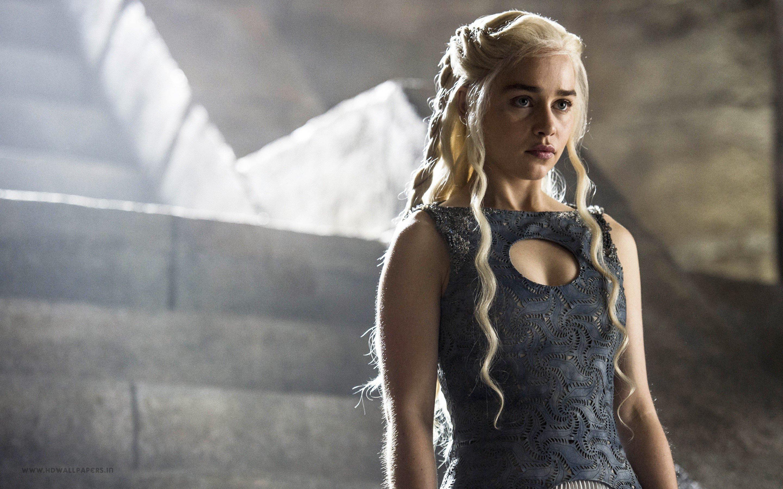 Fondo de pantalla de Emilia Clarke como Daenerys Targaryen Imágenes