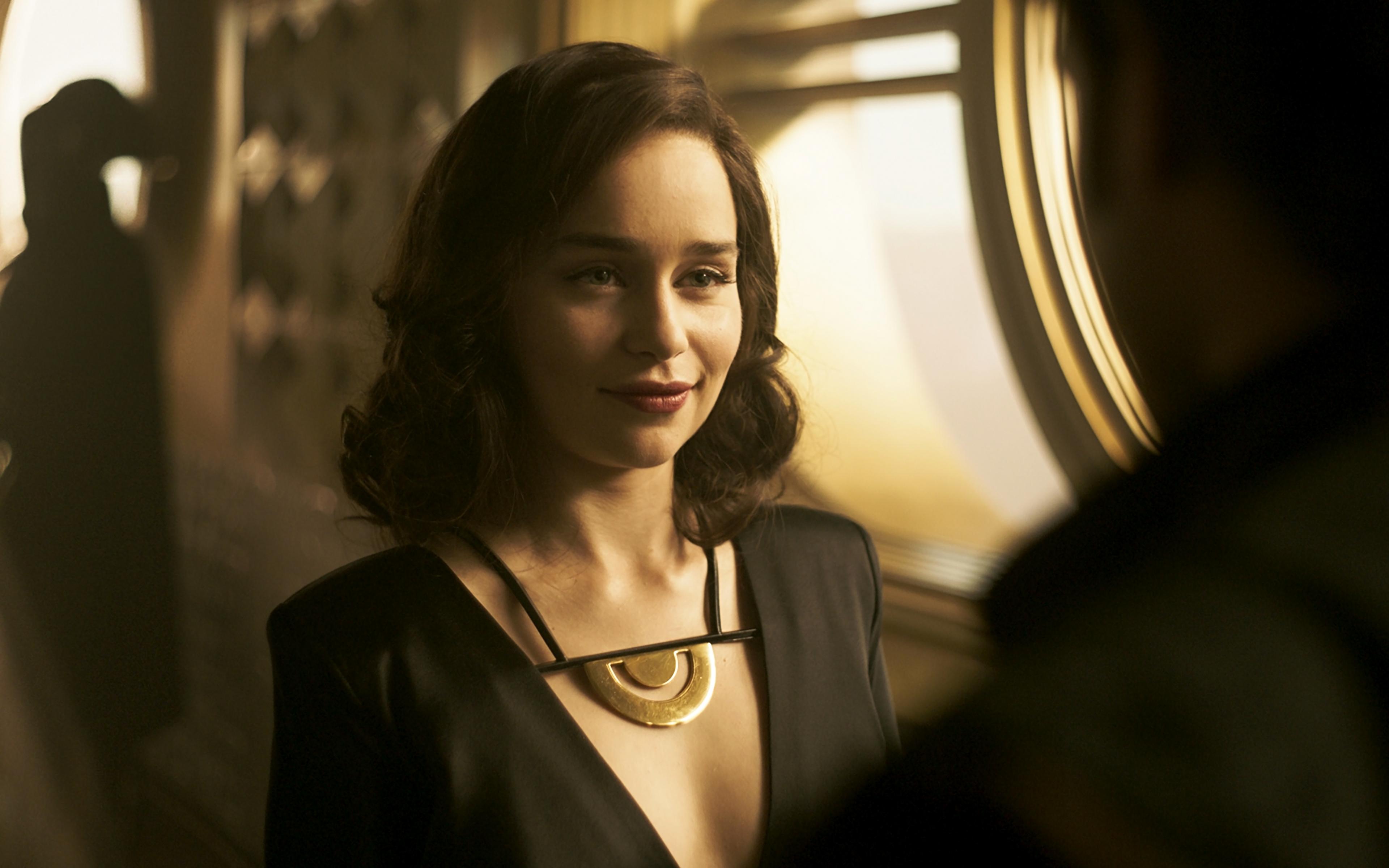 Emilia Clark As Qira In Solo A Star Wars Story Wallpaper 4k Ultra