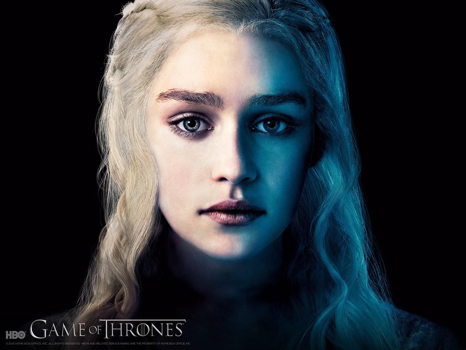 Wallpaper Emilia Clarke in Game of thrones
