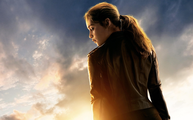 Wallpaper Emilia Clarke in Terminator Genesis
