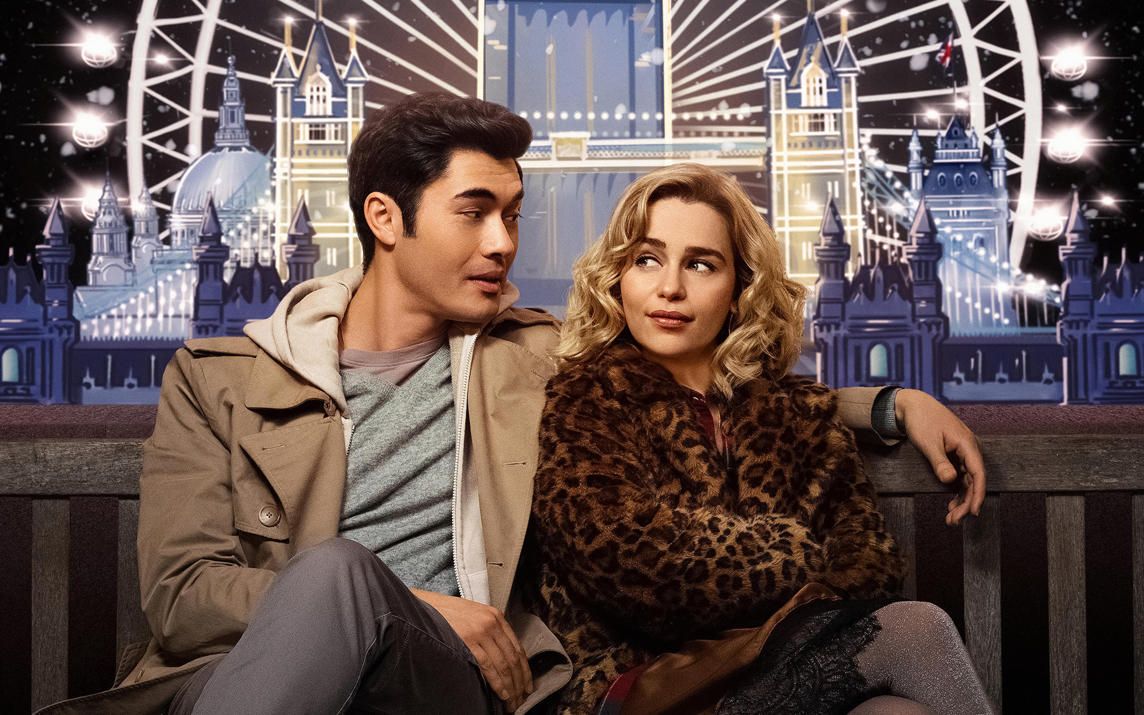 Fondos de pantalla Emilia Clarke y Henry Golding en Last Christmas