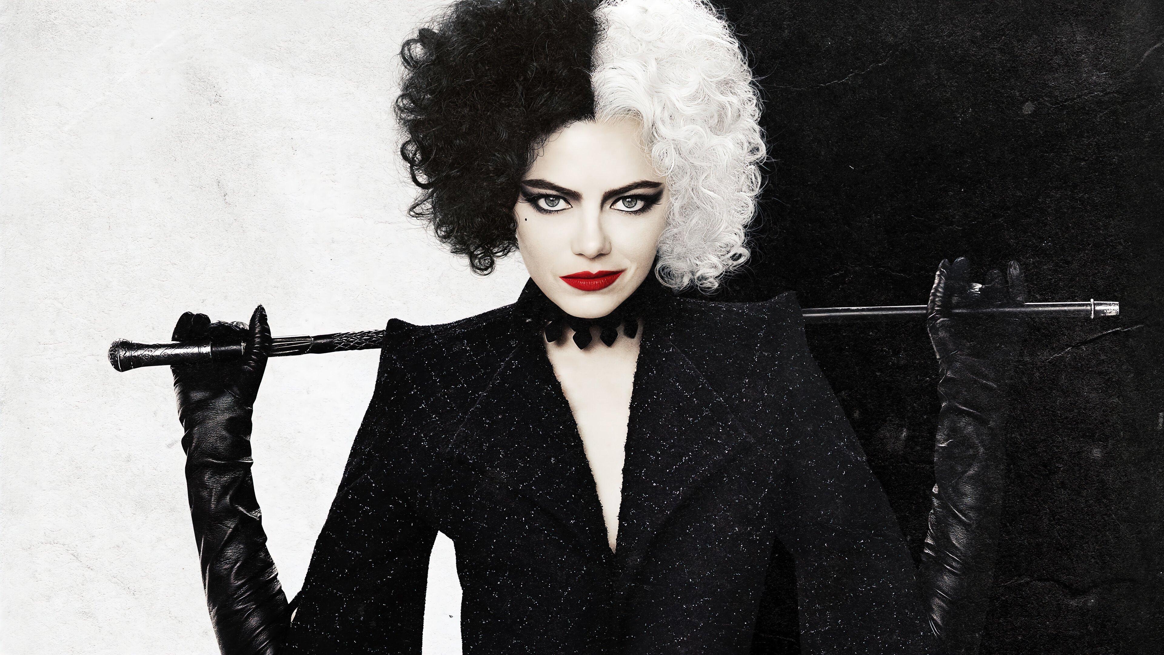 Fondos de pantalla Emma Stone como Cruella