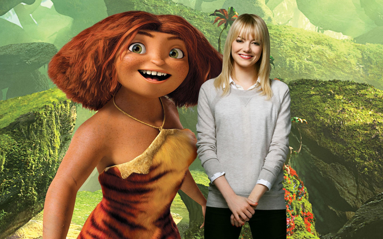 Fondos de pantalla Emma Stone como Eep