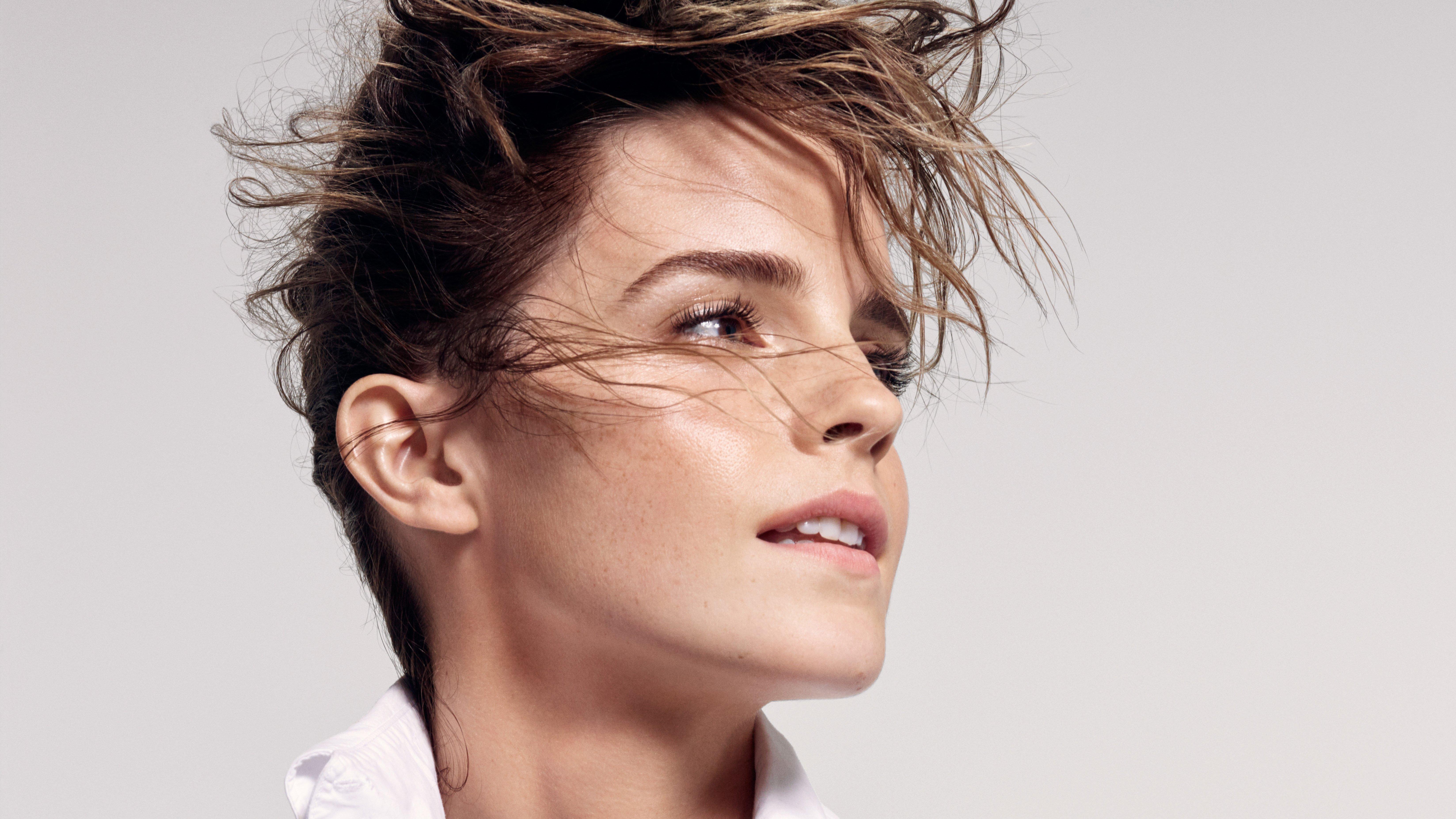 Fondos de pantalla Emma Watson cabello corto