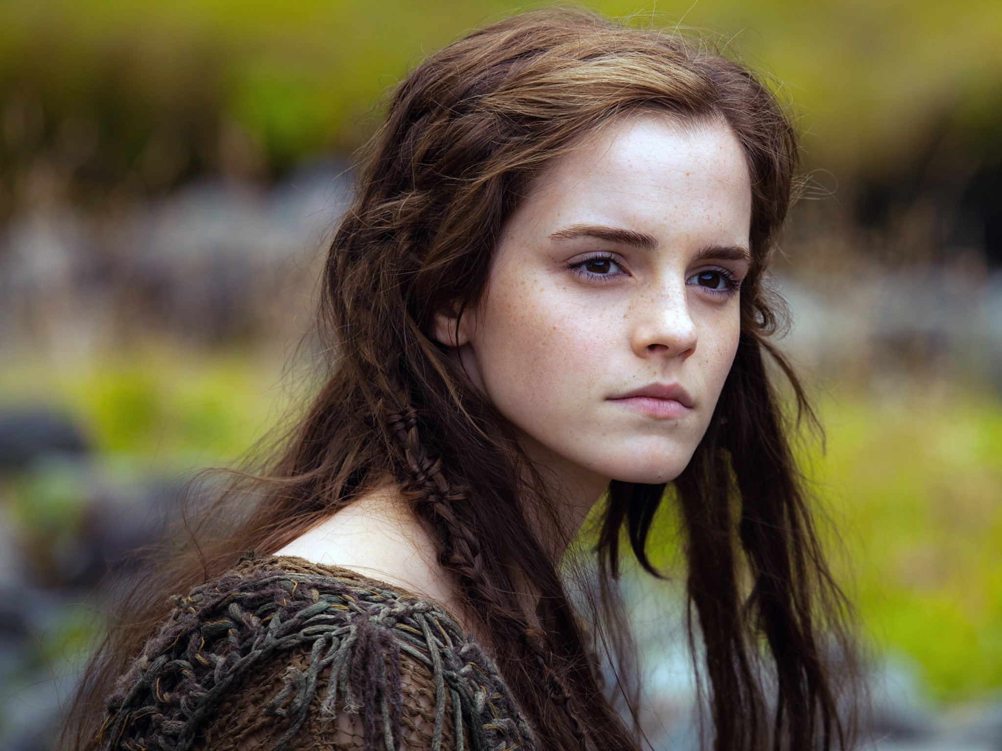 Wallpaper Emma Watson on Noah