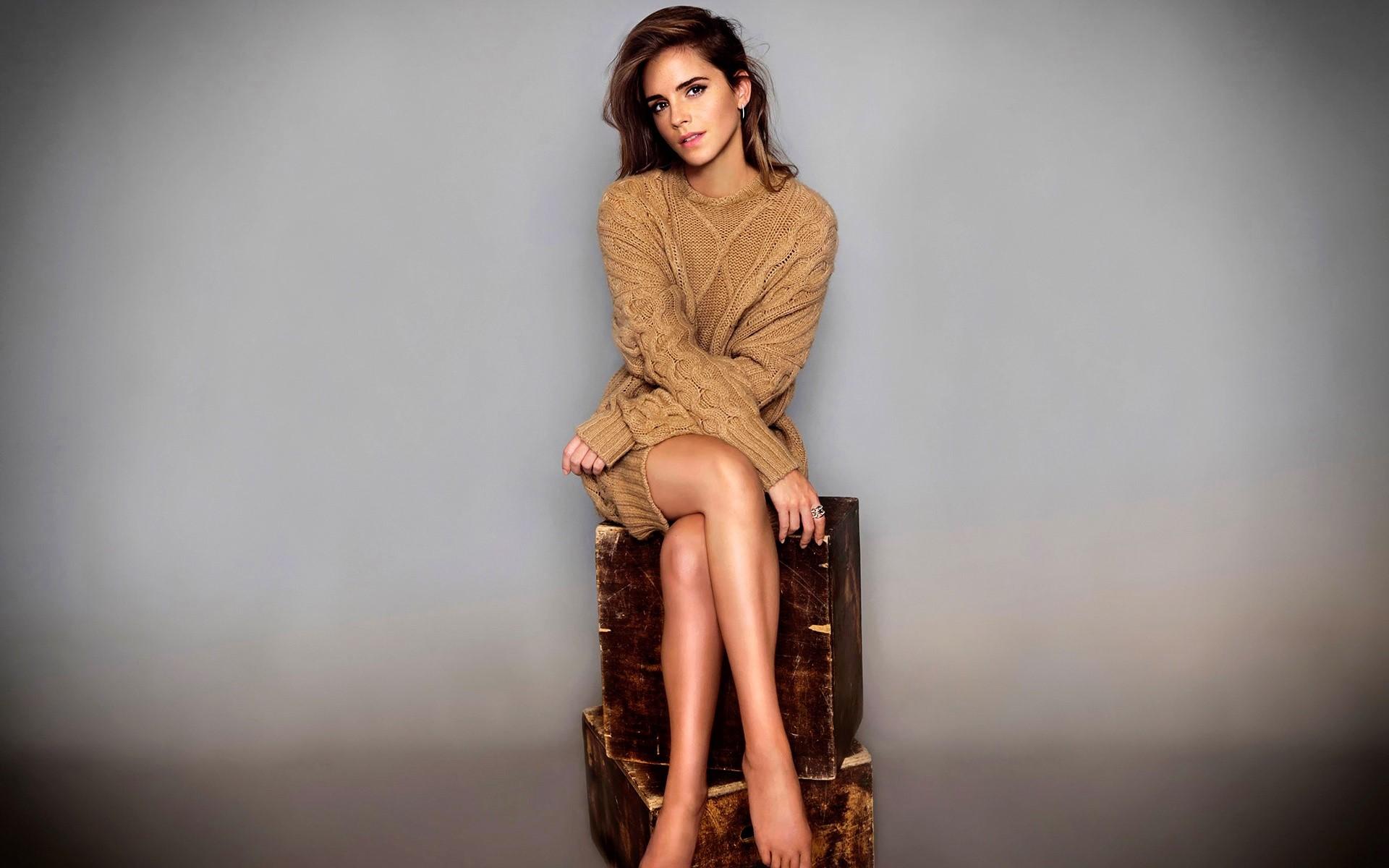 Wallpaper Emma Watson photoshoot